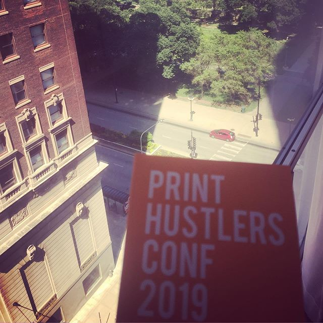 Had a great time this weekend at the #printhustlersconf. It was awesome to meet so many people I respect and admire in the industry. Thanks @printavo !!!