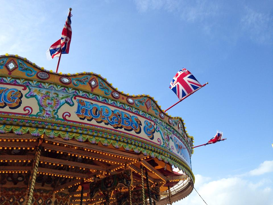 Photo: Andrea Bak, Brighton Pier, May 2014