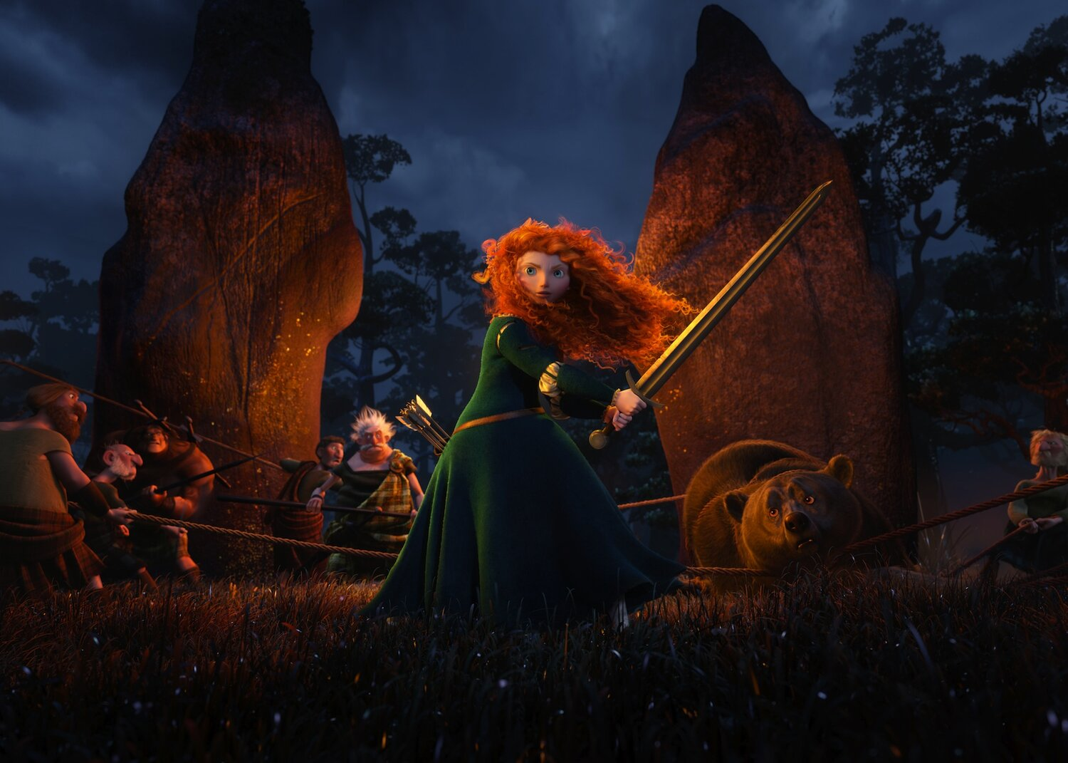 Movie Review Brave Every Movie Has A Lesson
