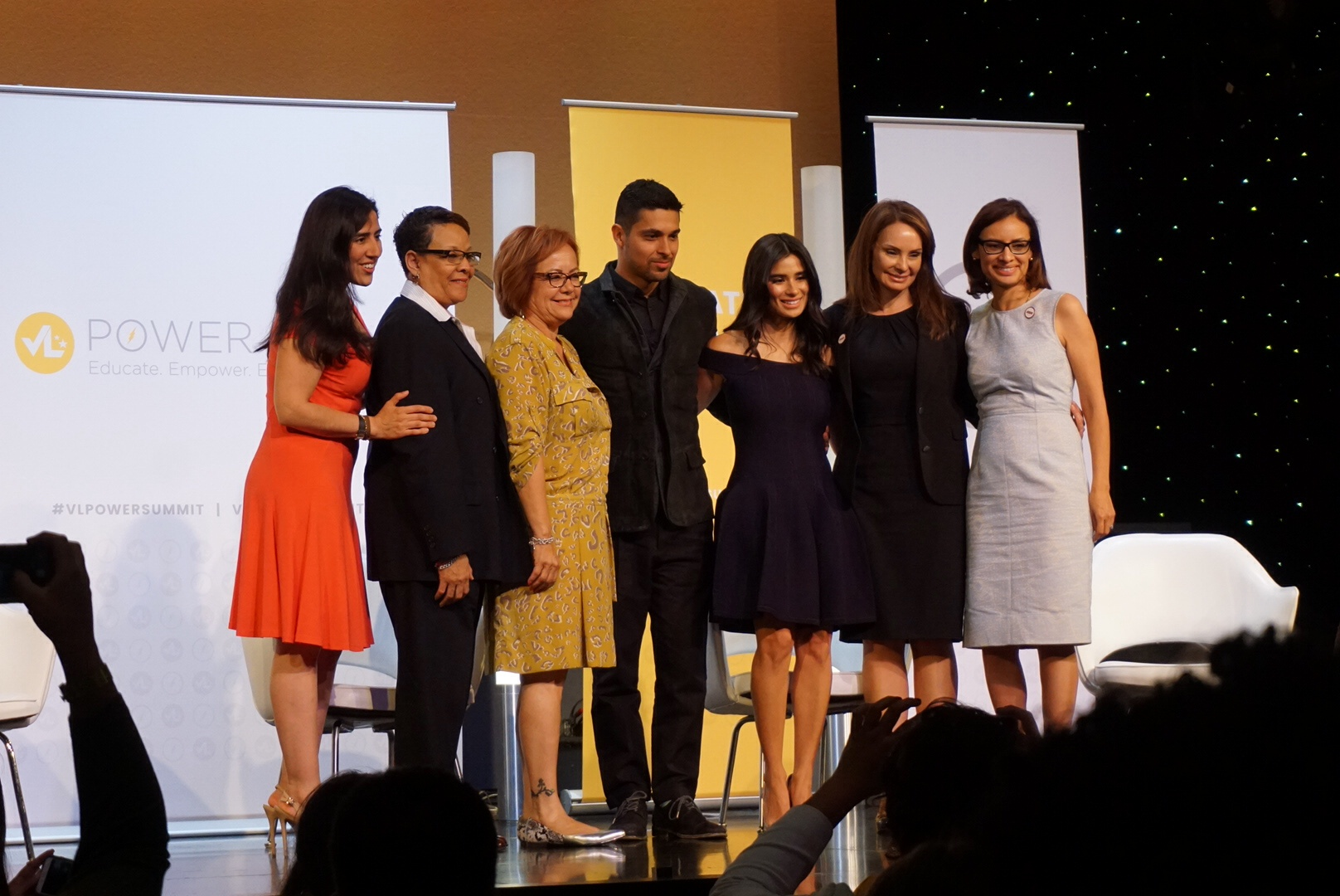 Inspiring panels throughout the weekend touched on issues affecting Latinos most.