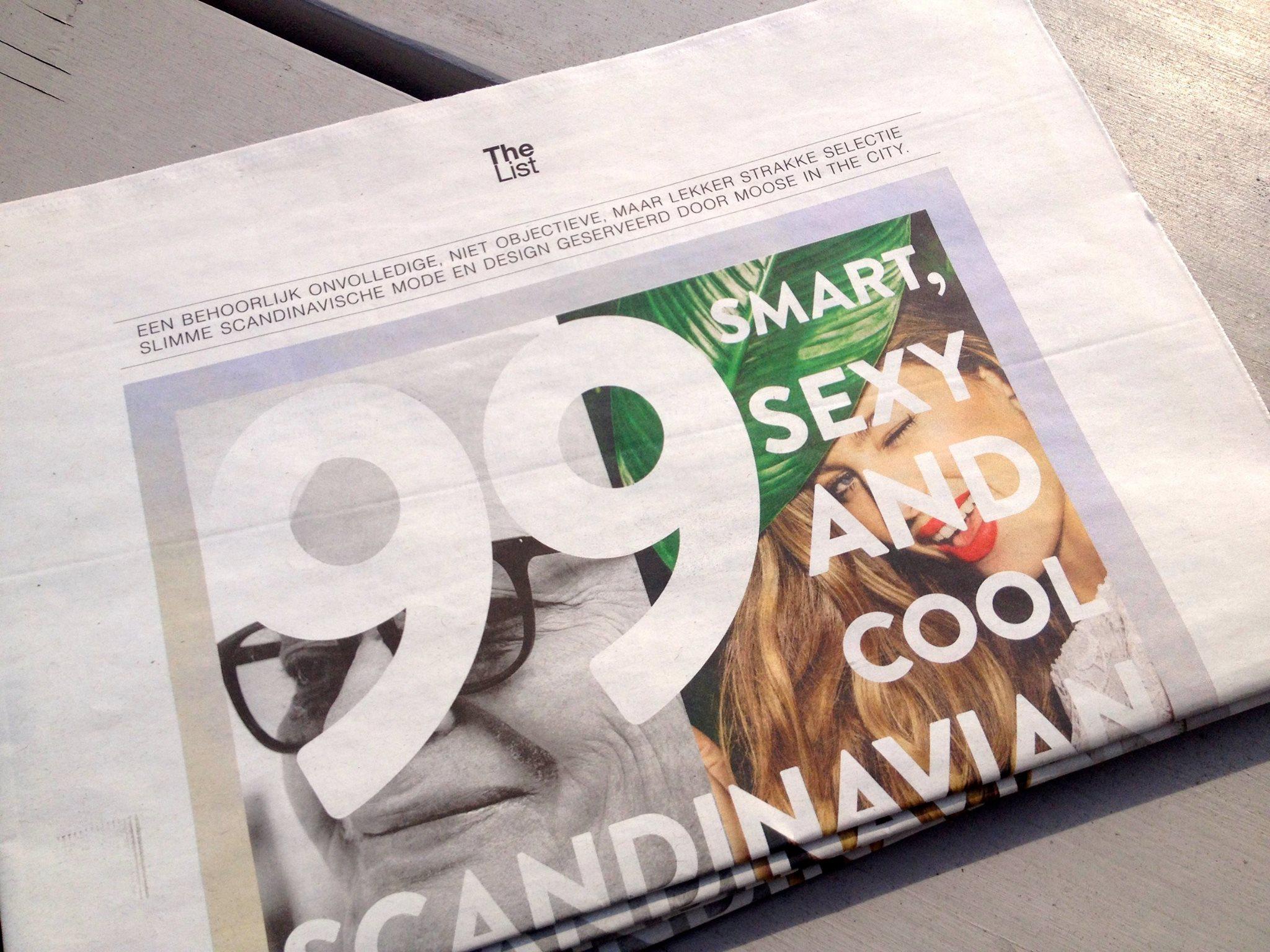 de scandinavische THE LIST van MOOSE in the CITY - april 2015