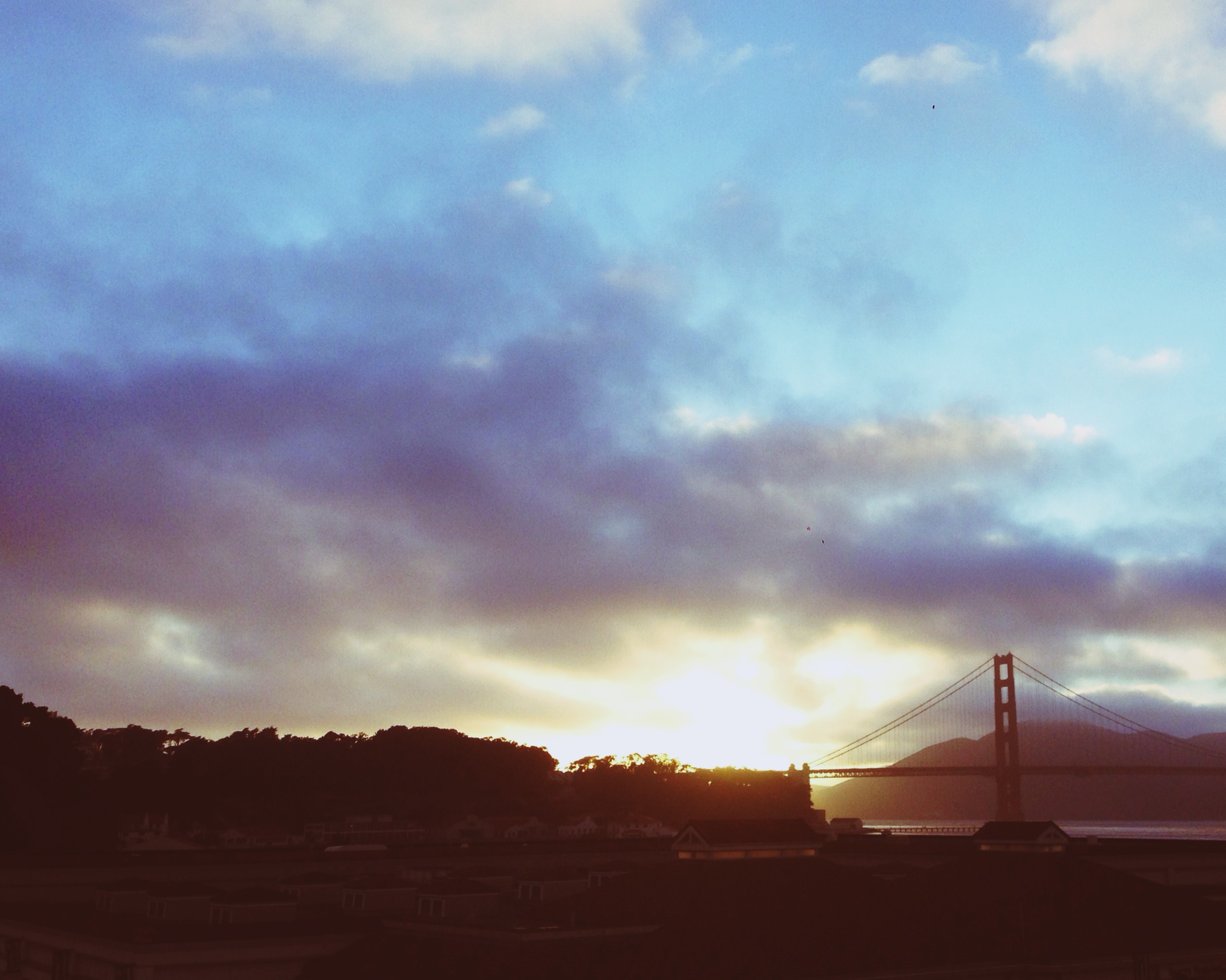 Fourth of July Sunset from Angel Island