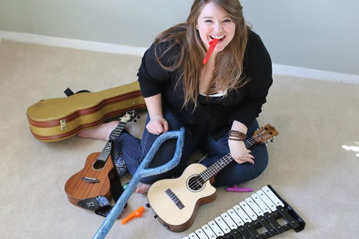 This image represents only a fraction of the instruments floating around Louisa's home. She might have a problem.