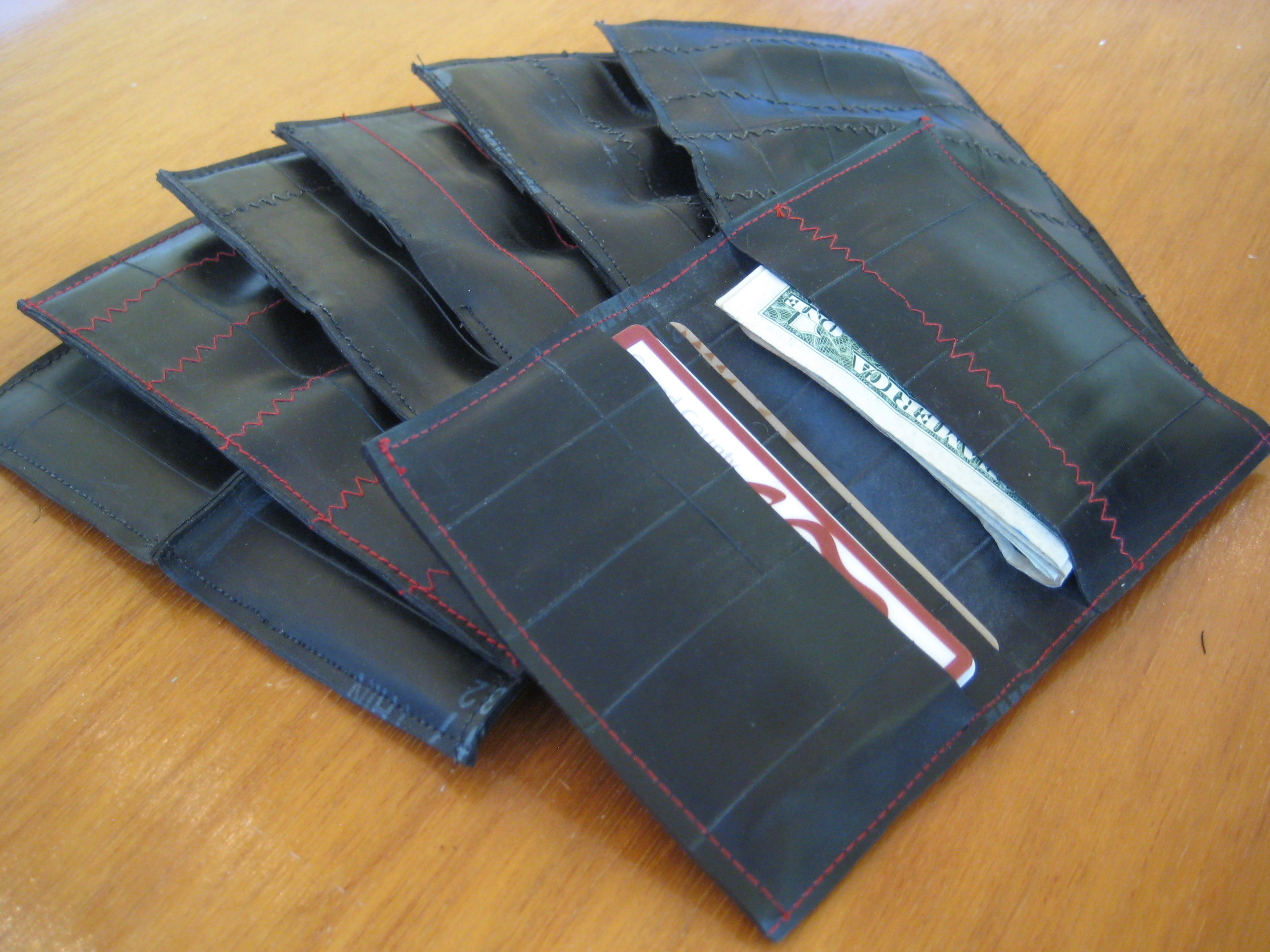 Some of the original wallets