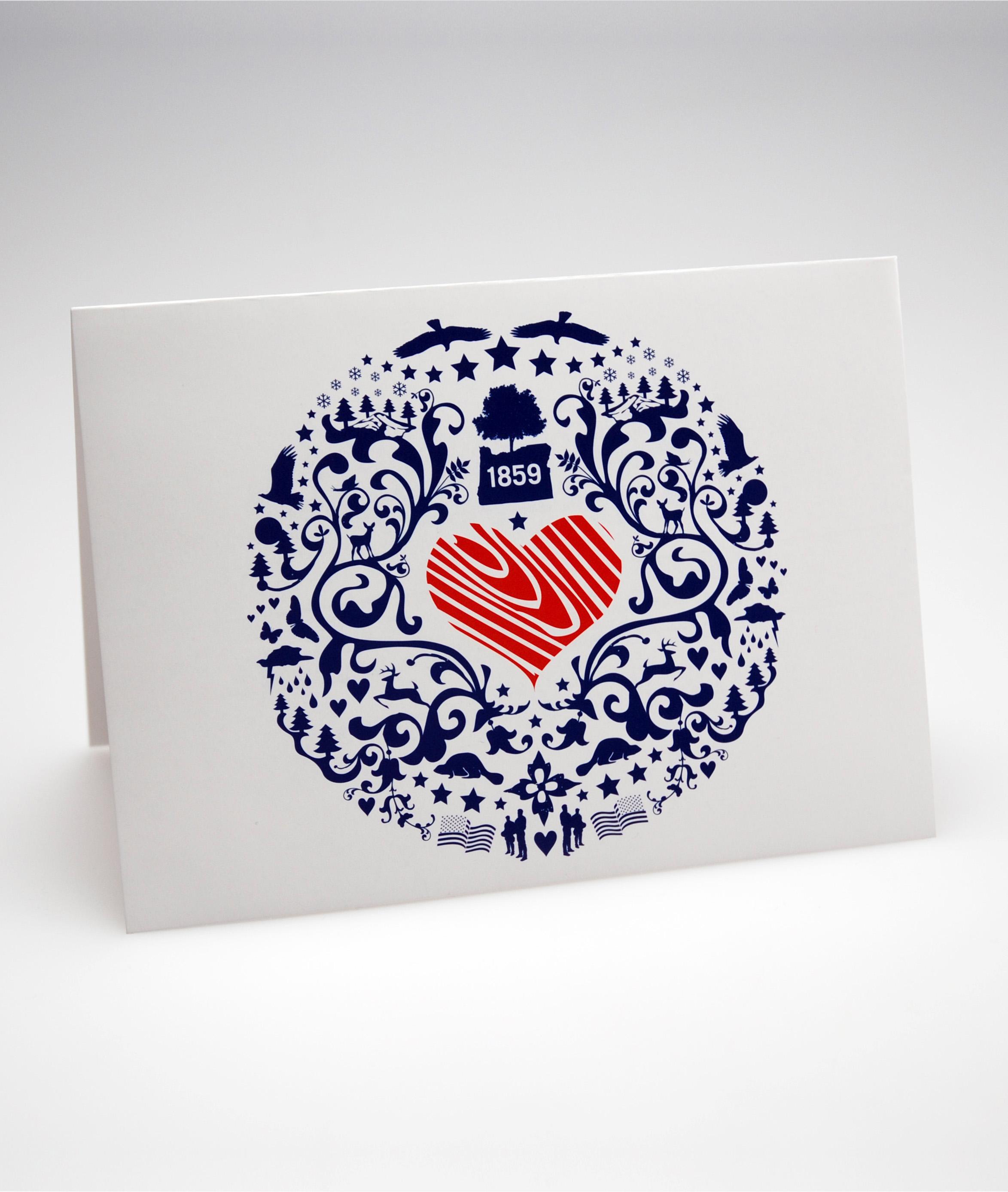 valentine's day card for servicemen