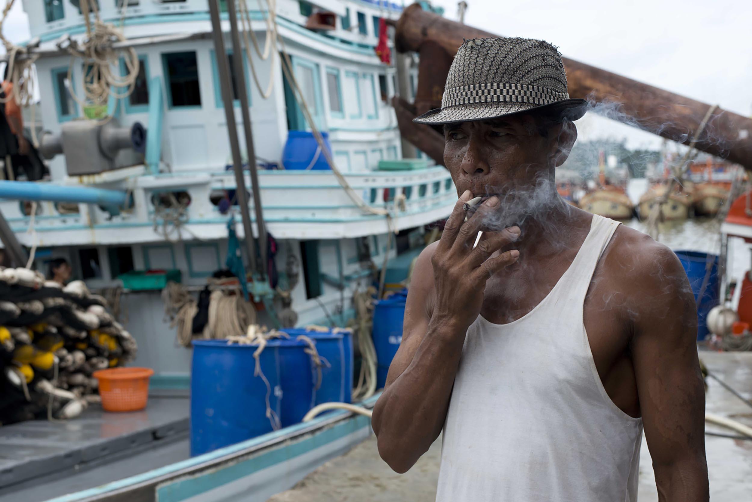 Burmese Migrant Fisherman