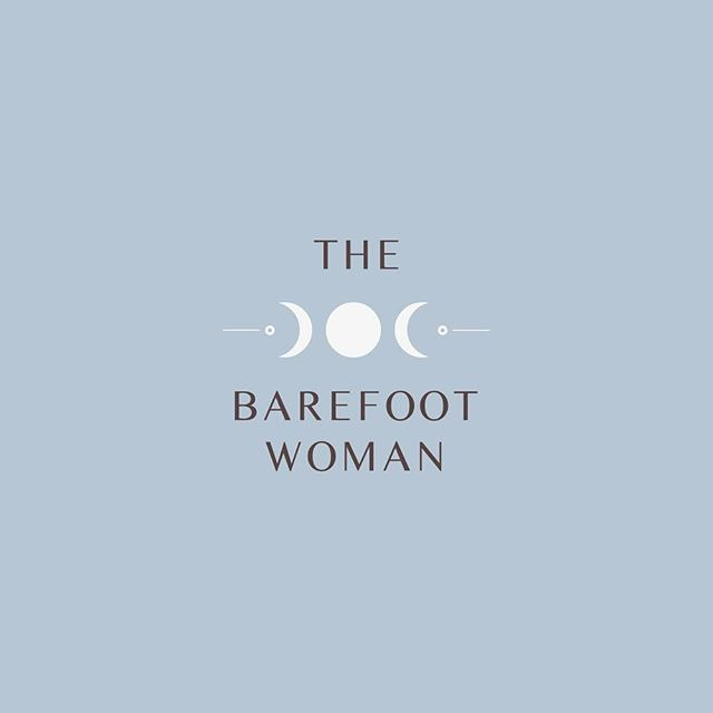 Beautiful @thebarefootwoman was looking for a gentle & simple logo to reflect her practices of astrology, spiritual mentoring & energy healing. She loved the outcome! 🌟  #branding #design #logodesign #goldcoast #brand #art #design #energyhealing #spiritual #goddess