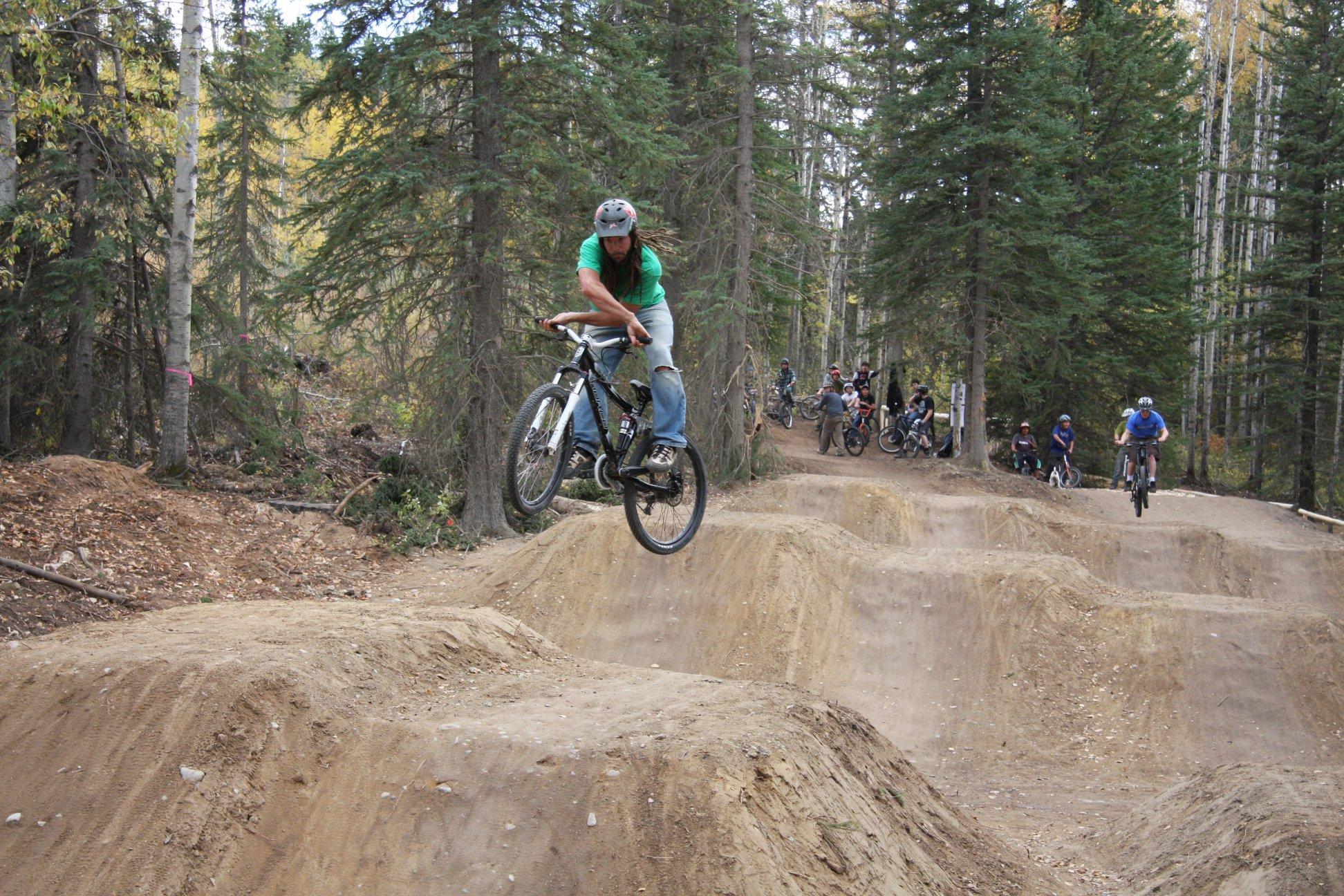 Jay Hoots on Dirt Jumps