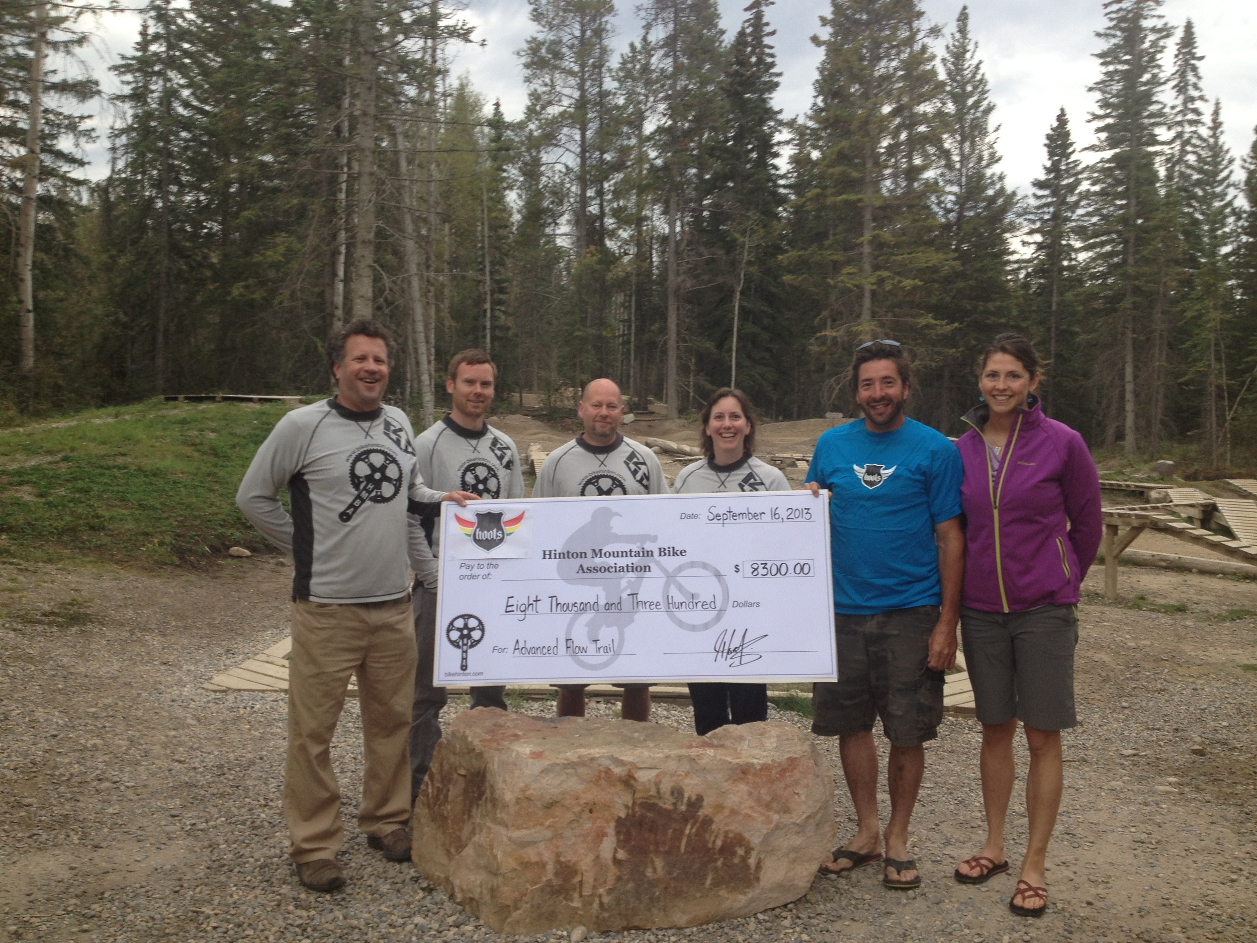 HMBA Receives Advanced Flow Trail Donation from Hoots Inc.