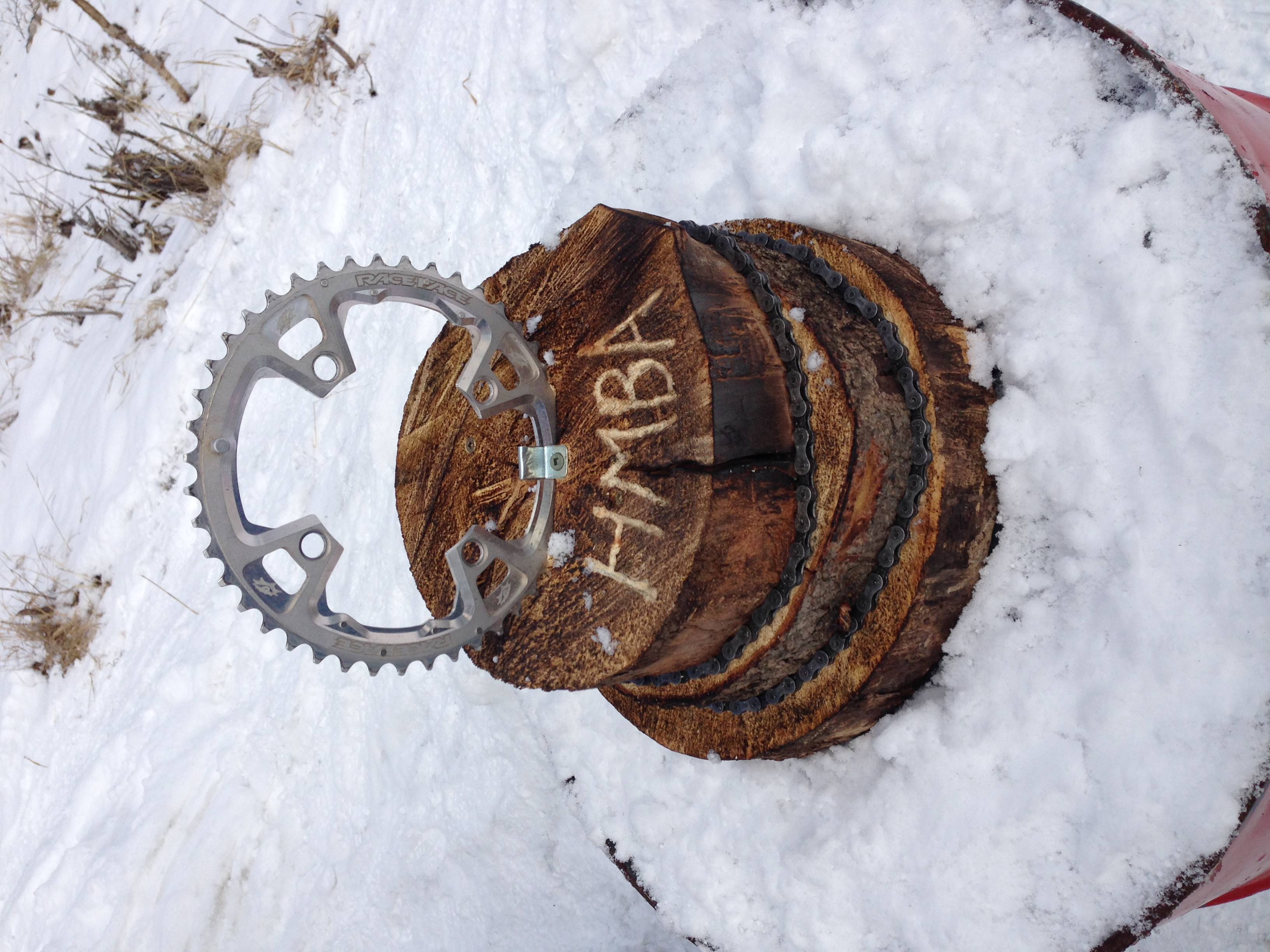 Fun Fat Bike Race Trophy - crafted by Mike Mahoney