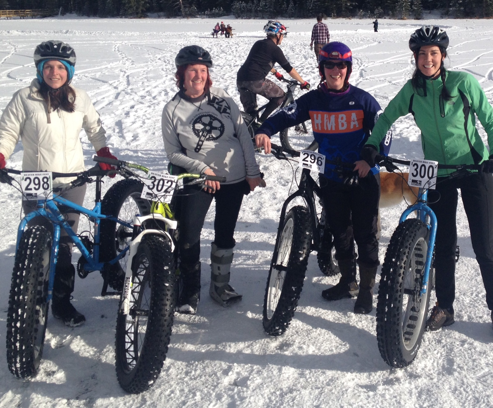 Gals on Fat Bikes