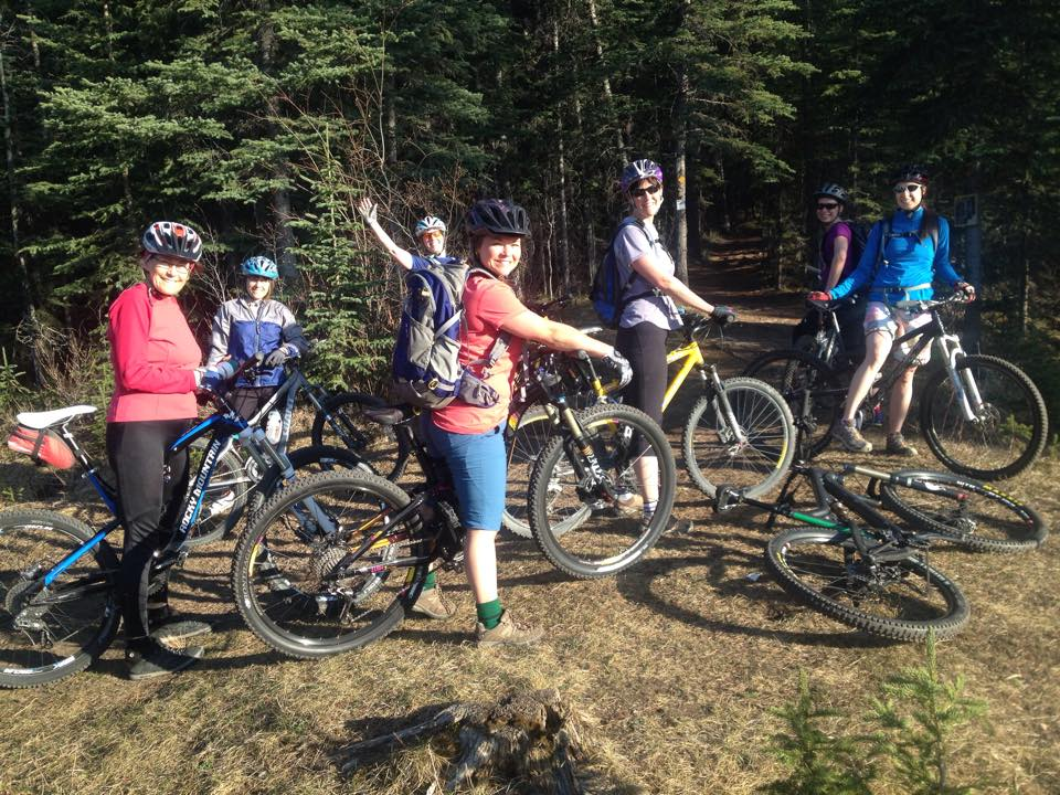 May 11, 2015 - First Ladies' Ride of the season!  Group 1 of 2.