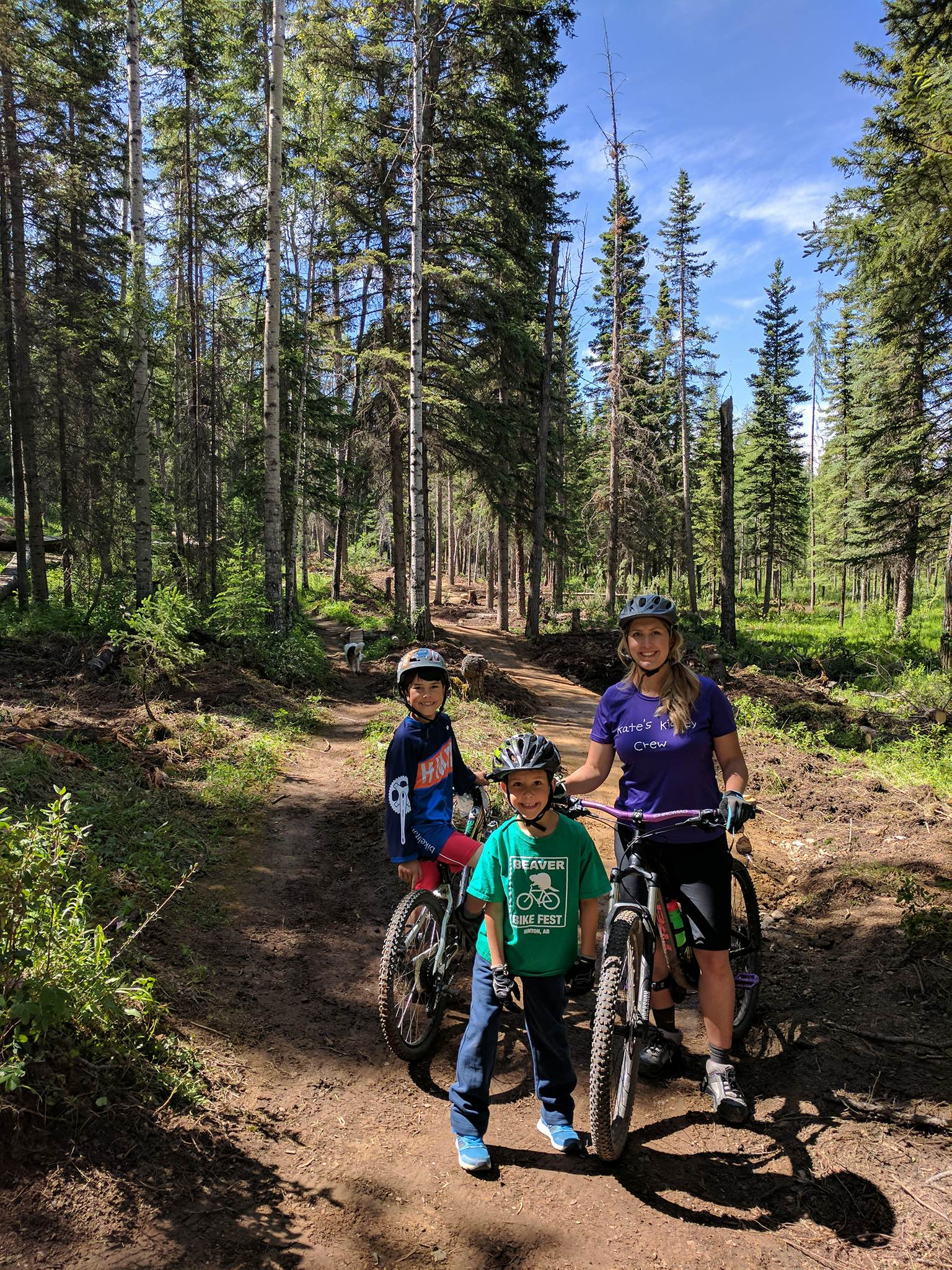 A new trail well suited for riders of all abilities!