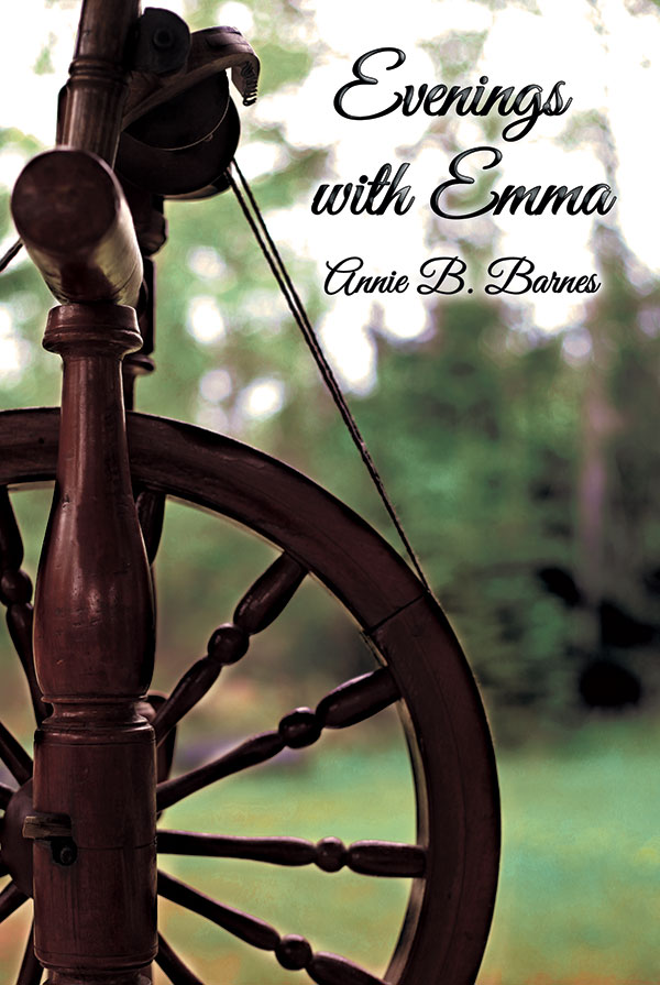 Evenings with Emma book cover photo/design.