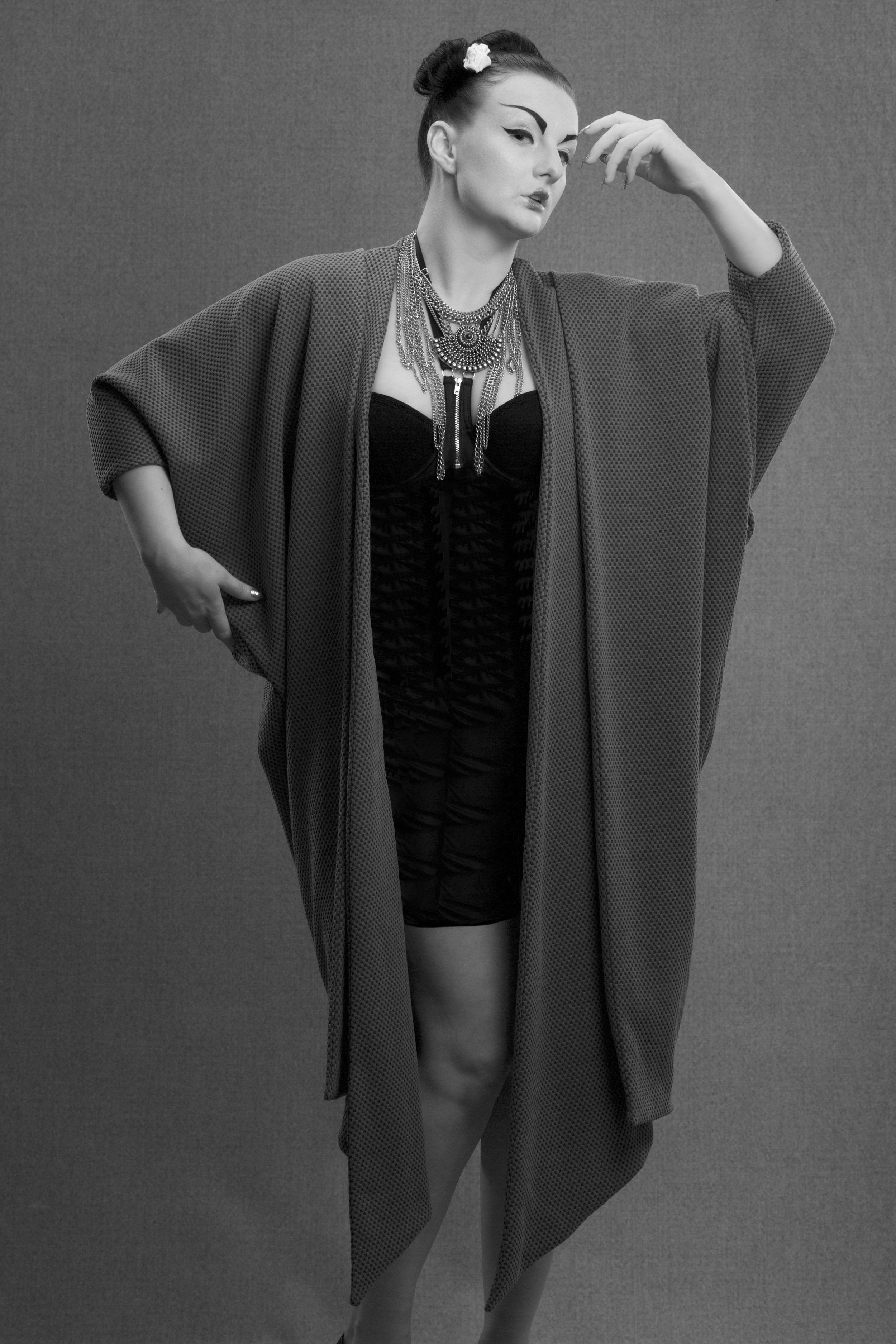 zaramia-ava-zaramiaava-leeds-fashion-designer-ethical-sustainable-grey-drape-ayame-jacket-noa-geshia-black-white-4