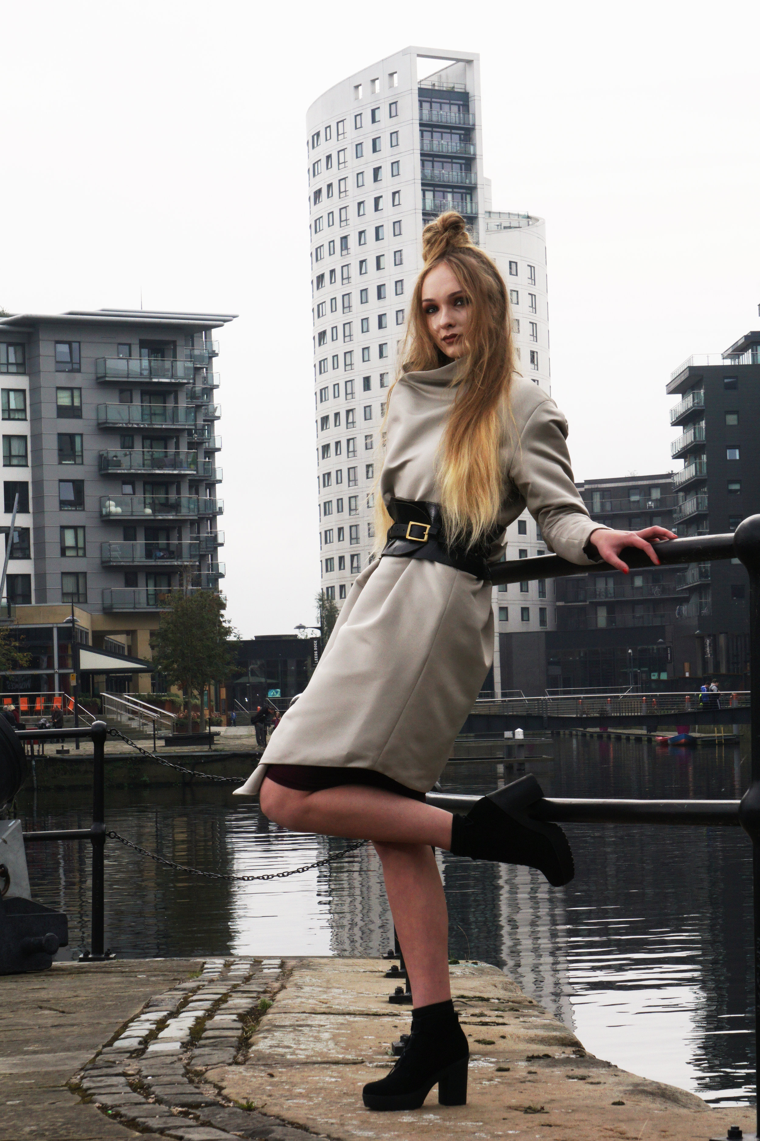 zaramia-ava-zaramiaava-leeds-fashion-designer-ethical-sustainable-taupe-jacket-versatile-plum-drape-mika-crop-top-yoko-skirt-leeds-dock-grunge-4