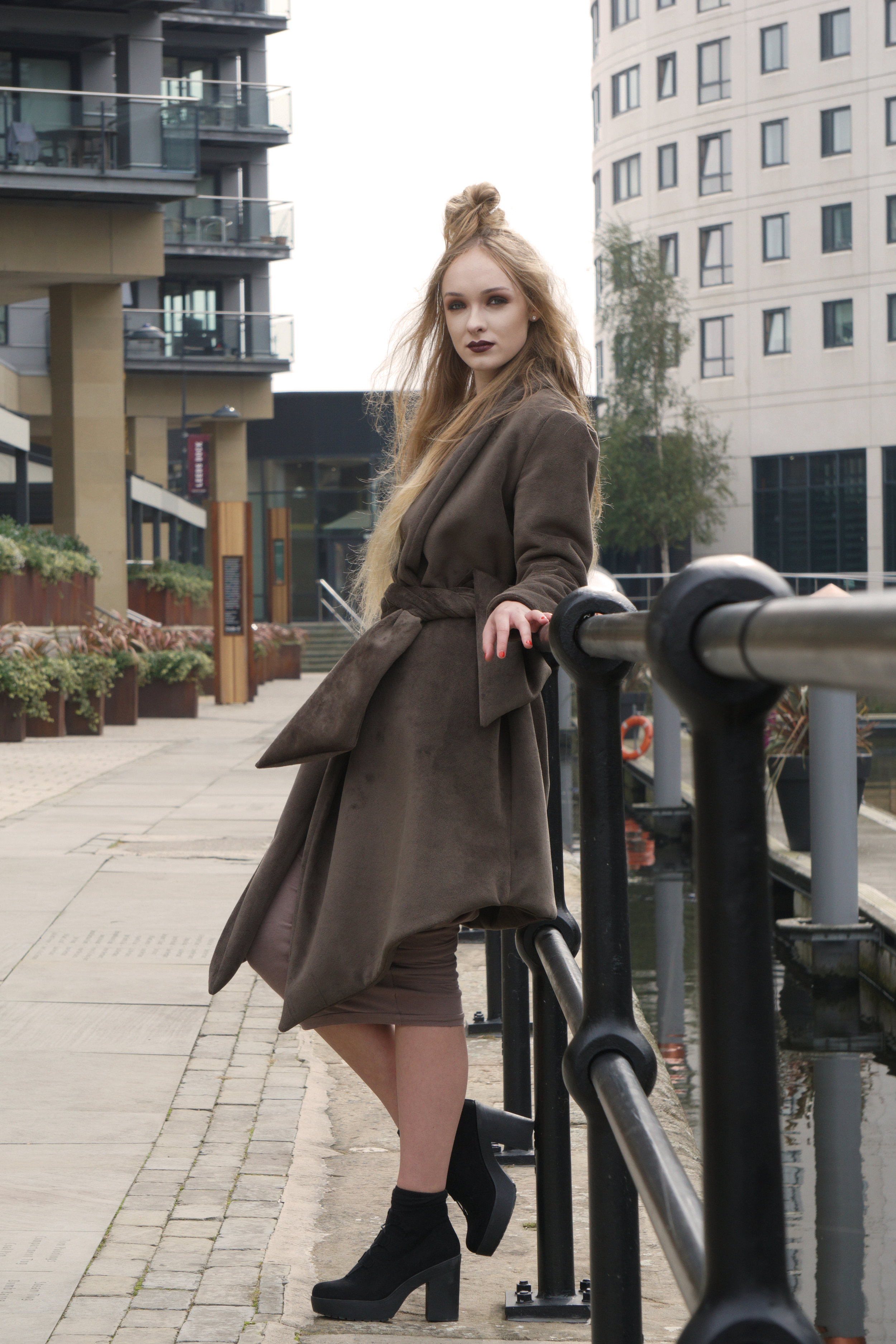 zaramia-ava-zaramiaava-leeds-fashion-designer-ethical-sustainable-taupe-versatile-drape-yoko-skirt-mioka-black-mai-coat-leeds-dock-grunge-13