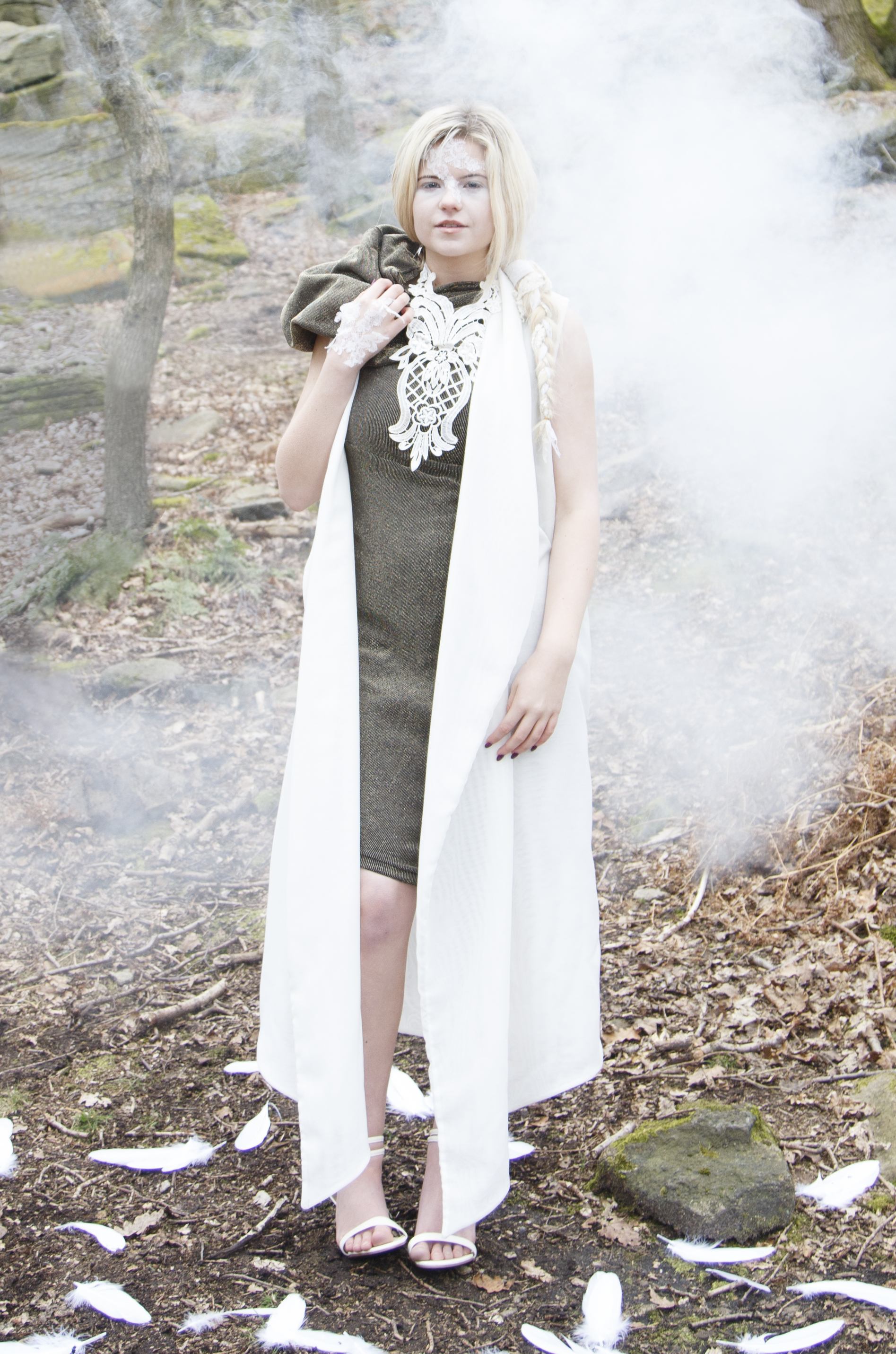 zaramia-ava-zaramiaava-leeds-fashion-designer-ethical-sustainable-smoke-versatile-drape-wrap-gold-cowl-white-dress-styling-location-womenswear-models-photoshoot-location-lace-3