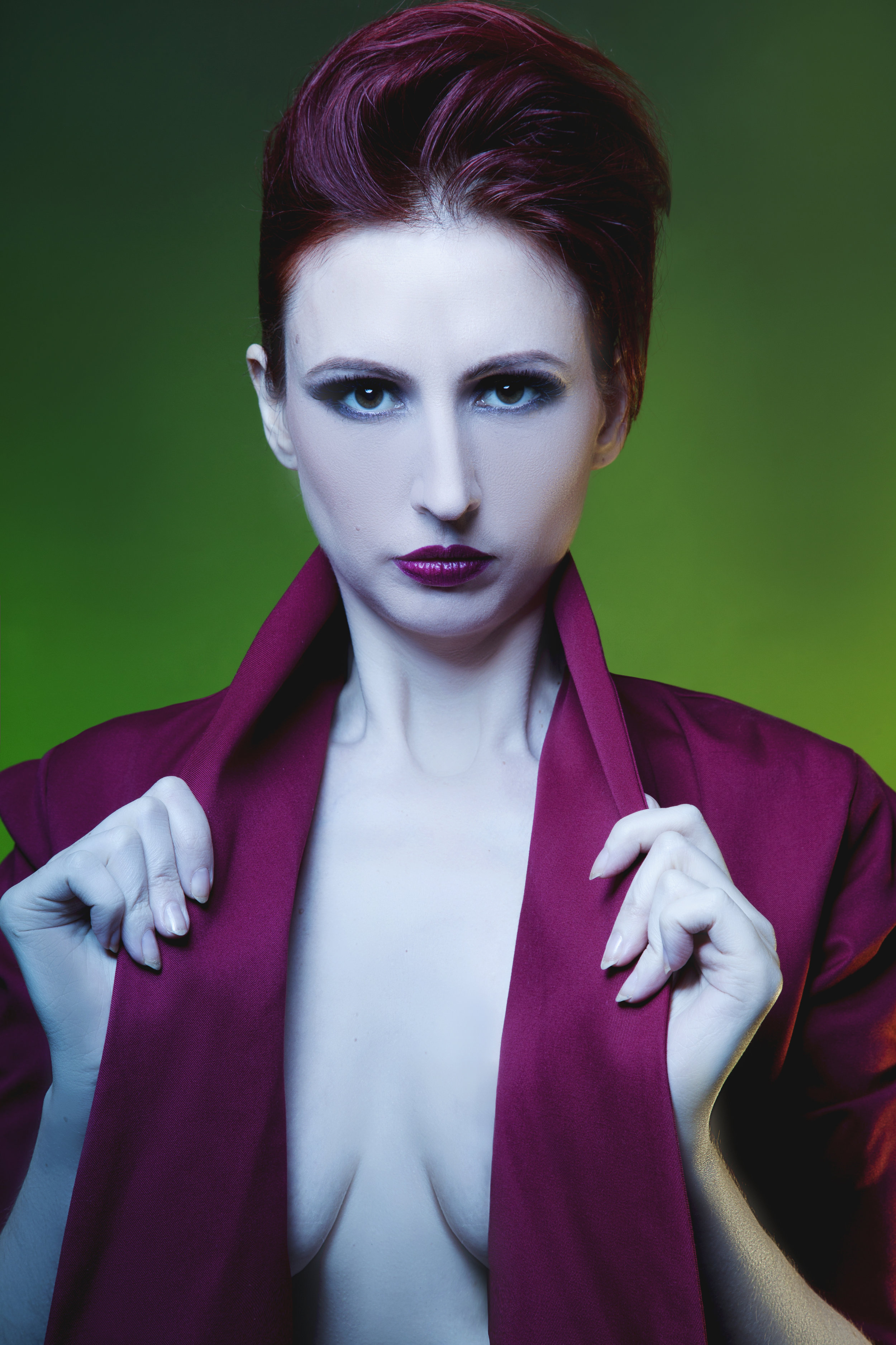 zaramia-ava-zaramiaava-leeds-fashion-designer-ethical-sustainable-red-versatile-drape-wrap-mai-cowl-jacket-dress-styling-studio-womenswear-models-photoshoot-vibrant-colour-1