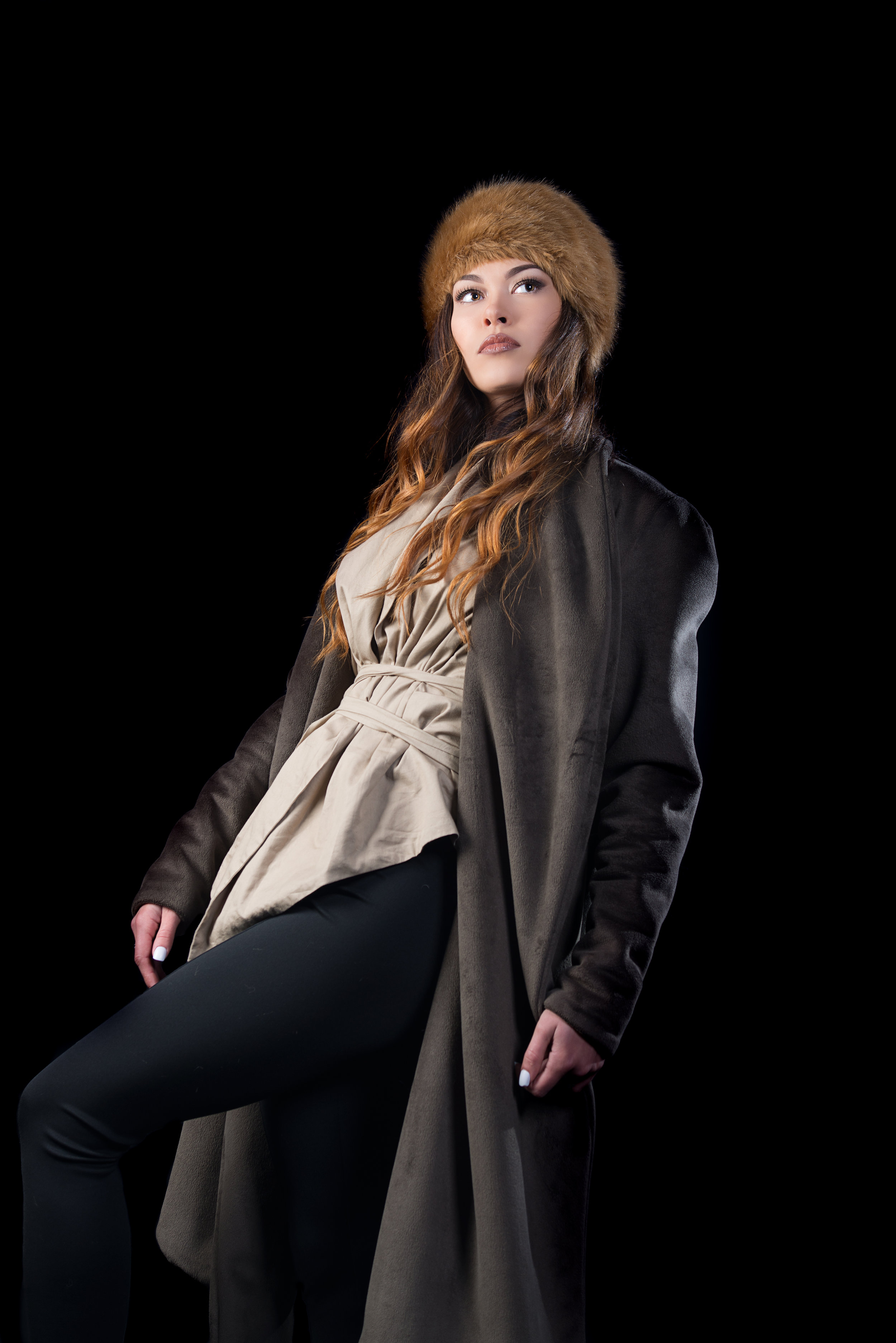 zaramia-ava-zaramiaava-leeds-fashion-designer-ethical-sustainable-tailored-minimalist-jacket-mai-coat-jacket-black-mioka-obi-belt-top-versatile-drape-cowl-styling-studio-womenswear-models-photoshoot-4