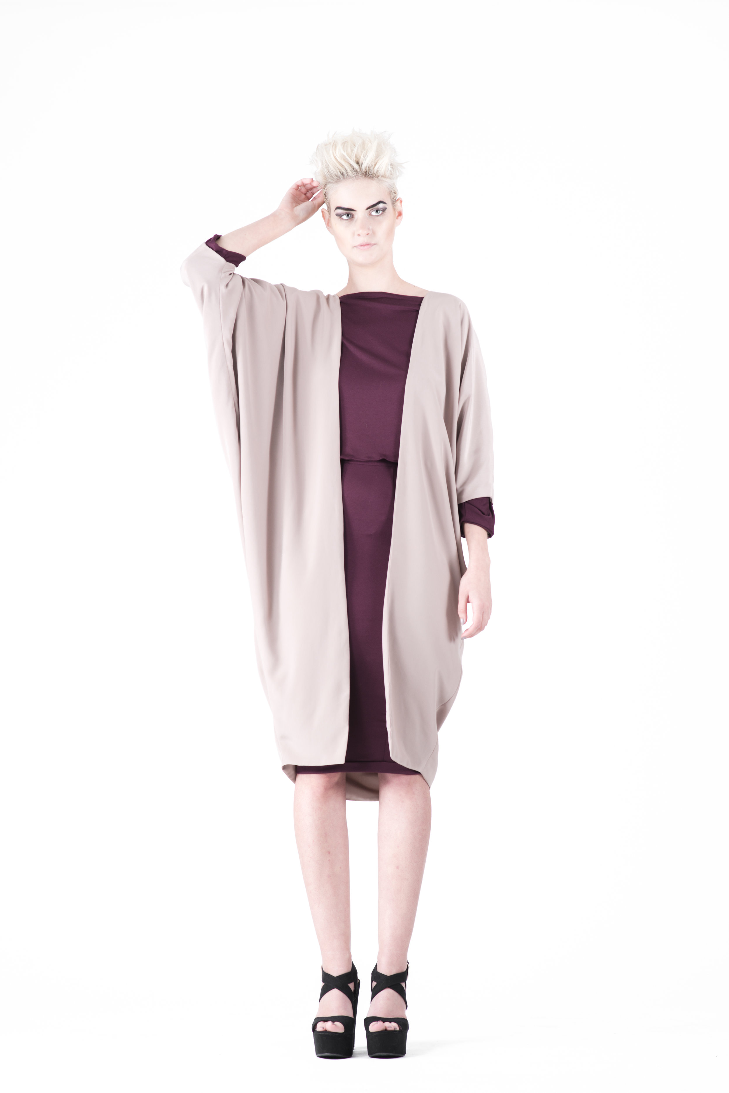 zaramia-ava-zaramiaava-leeds-fashion-designer-ethical-sustainable-tailored-minimalist-jacket-nude-ayame-coat-mika-plum-top-yuko-plum-versatile-drape-cowl-styling-womenswear-models-photoshoot-1