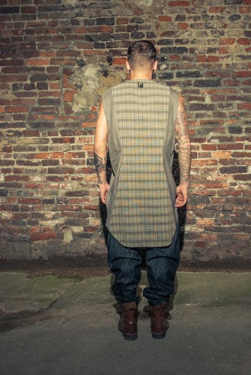 zaramia-ava-zaramiaava-leeds-fashion-designer-ethical-sustainable-tailored-minimalist-versatile-drape-grey-taupe-shirt-hareem-trousers-denim-brown-trousers-styling-menswear-model-photoshoot-21