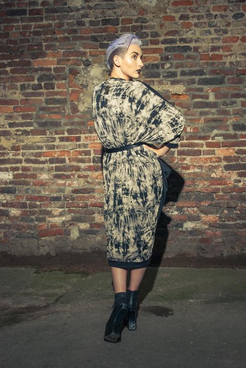 zaramia-ava-zaramiaava-leeds-fashion-designer-ethical-sustainable-tailored-minimalist-versatile-drape-wrap-dress-cowl-bodysuit-aya-midi-panels-print-belt-styling-womenswear-model-photoshoot-77
