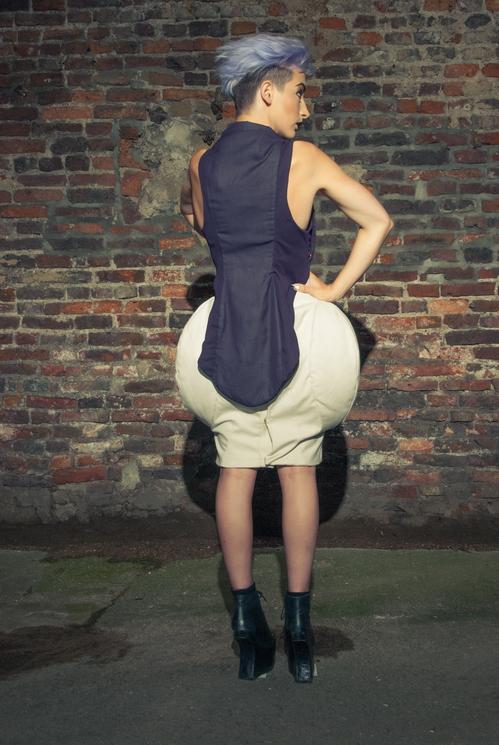 zaramia-ava-zaramiaava-leeds-fashion-designer-ethical-sustainable-tailored-minimalist-versatile-drape-purple-taupe-padding-shirt-top-skirt-styling-womenswear-model-photoshoot--4