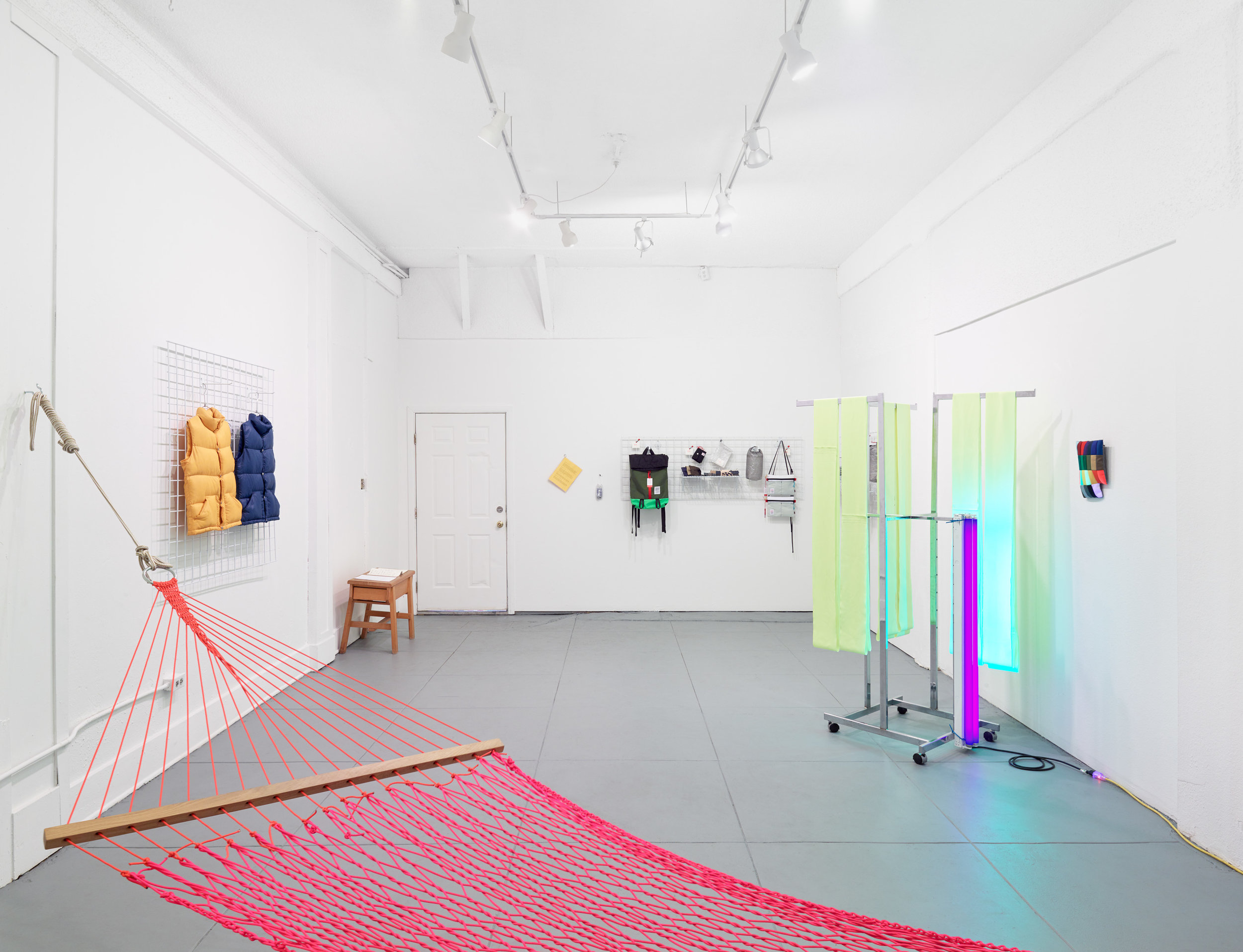 Installation view of  Pangaea at Household . Corrina Peipon and Krysten Cunningham at Household, Los Angeles, CA. March 11-April 22, 2018.