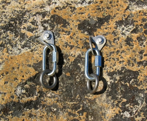 Bolt Anchors in Rock.
