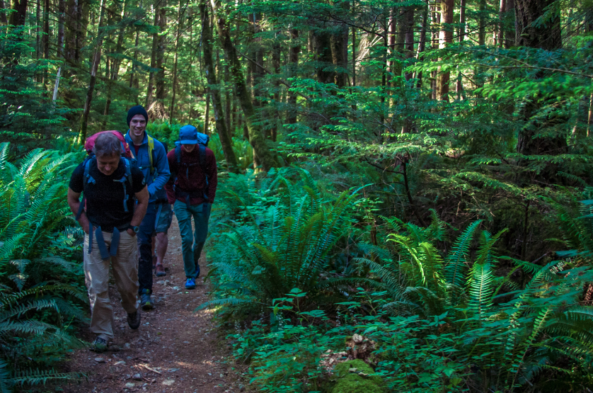 Walking on or off trail in the mountains is different. Photo: Pelig Levi