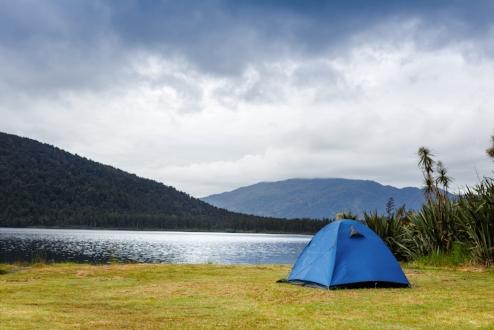 Camping Option.