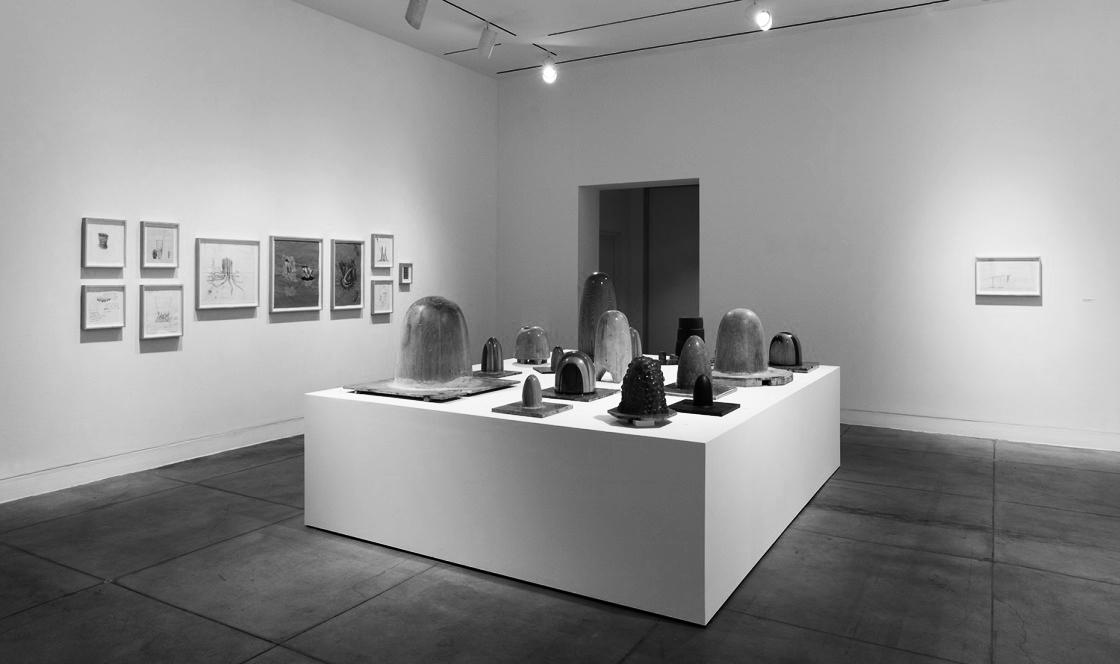 Gaetano Pesce:  Molds , art exhibit // photo source: moca.org
