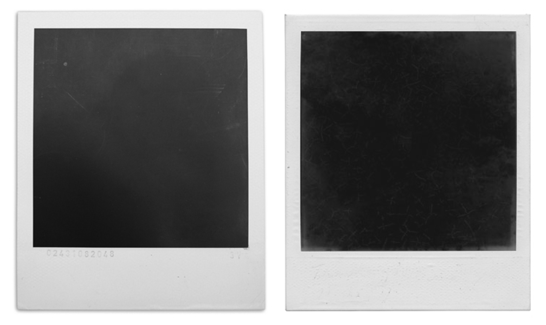 Polaroid Black, Art Exhibit // photo source: bigpictures.la