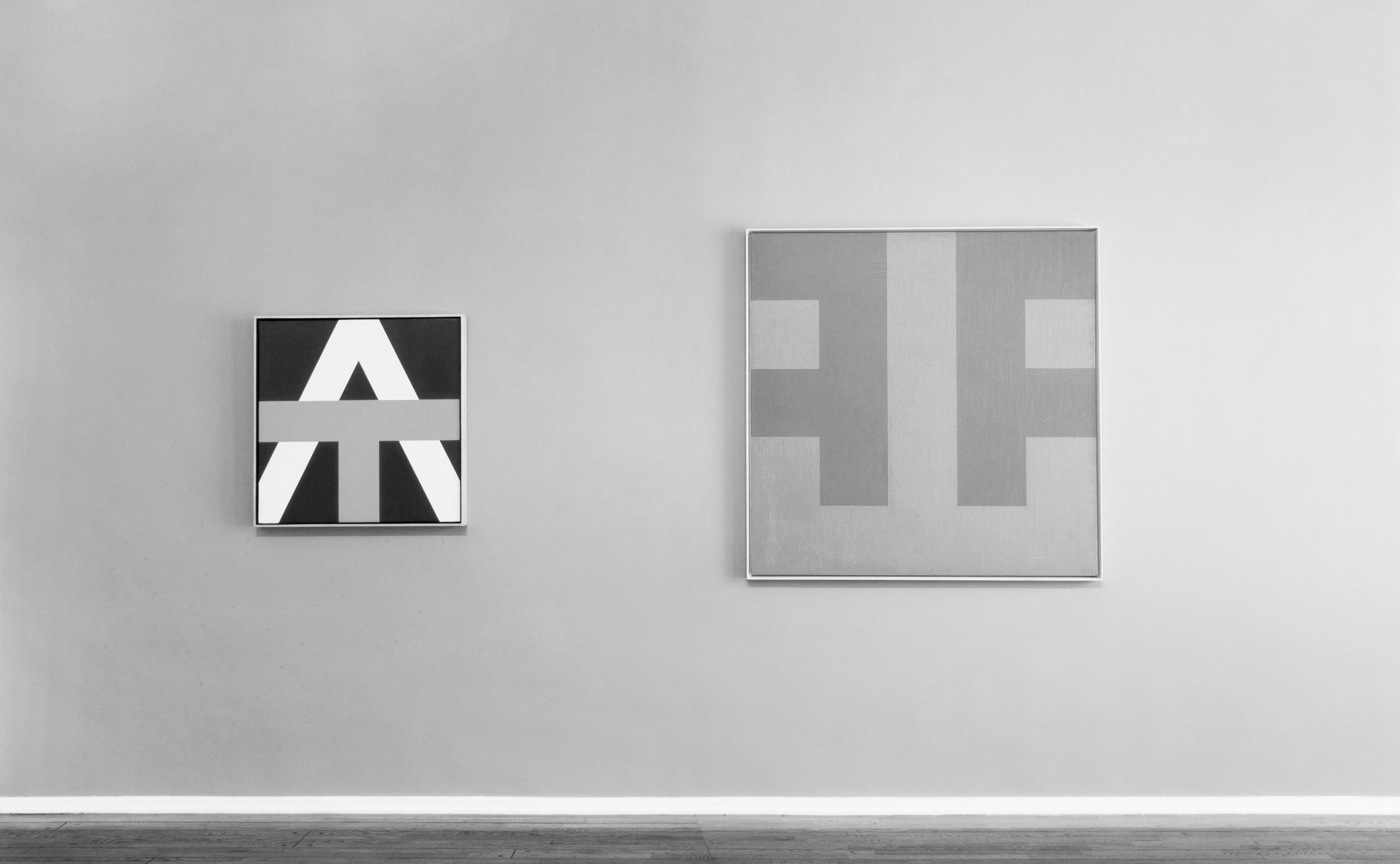 The Alphabet, Art Exhibit // photo source: Louis Stern Fine Arts
