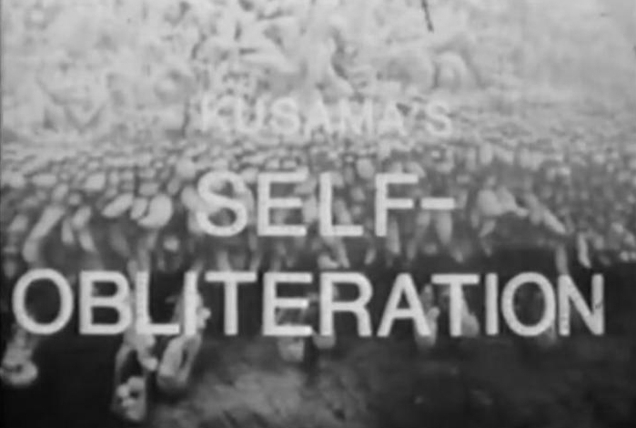 Title shot of Kusama's Self-Obliteration, 1967 // photo source: thebroad.org
