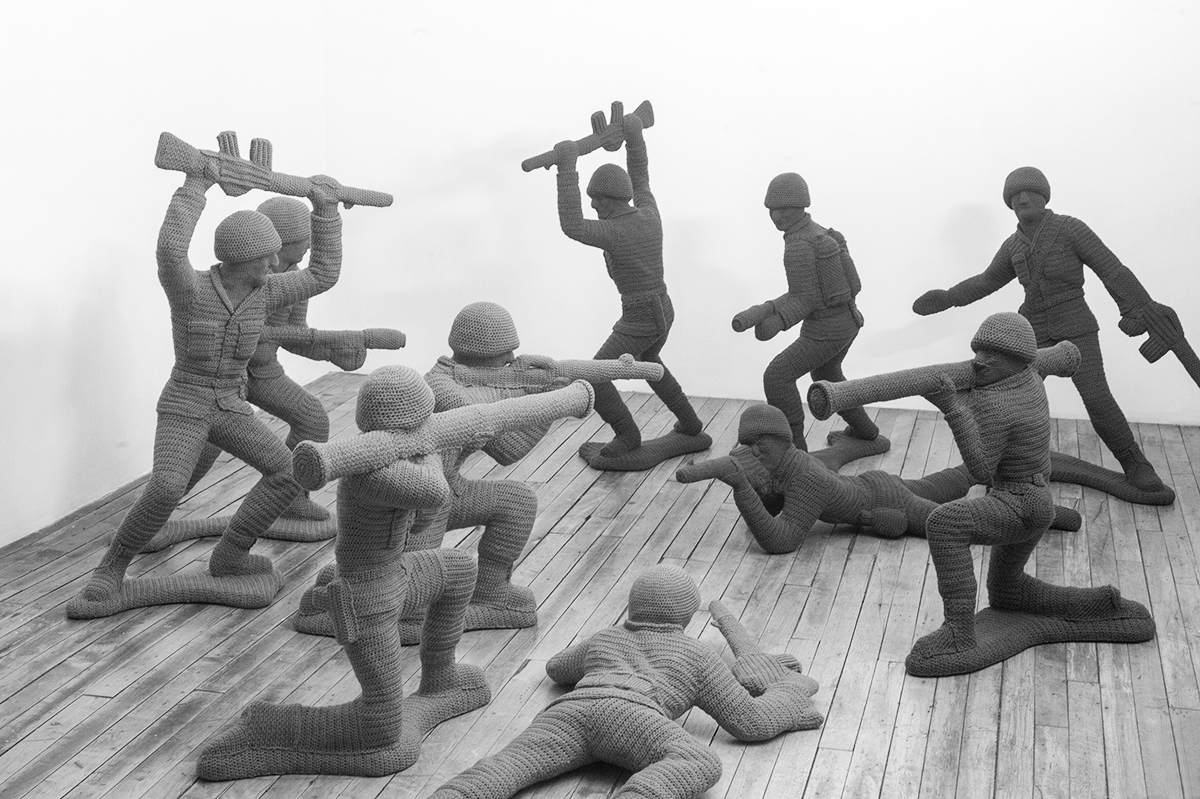 Nathan Vincent:Let's Play War!, Art Exhibit Opening Reception @ Noysky Projects
