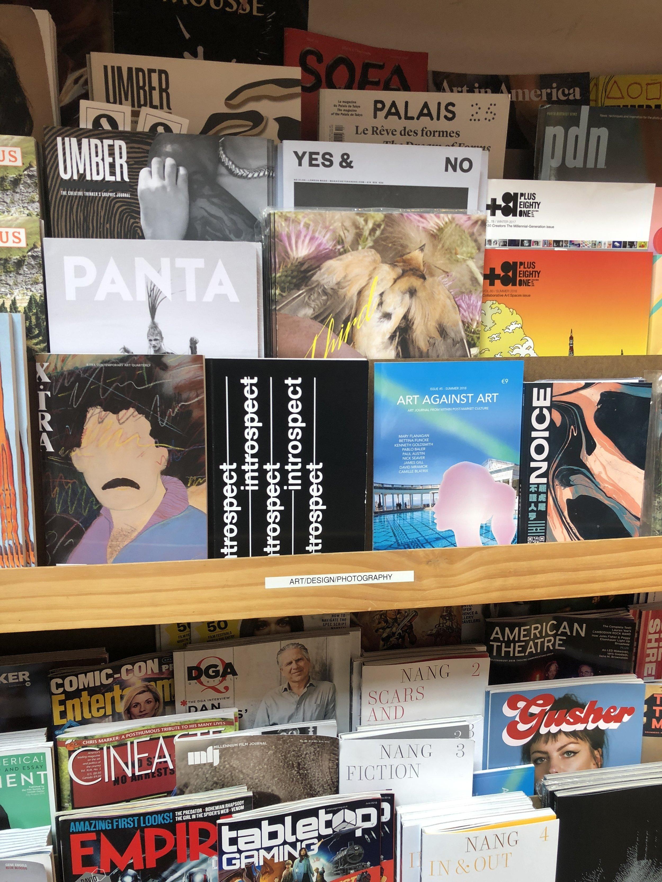// Introspect art book on sale at Skylight Books