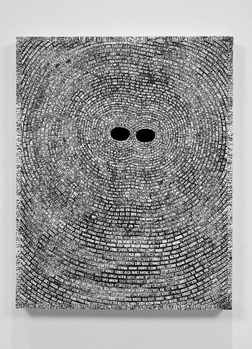 Jack Whitten: Self Portrait With Satellites, art exhibit @ Hauser & Wirth // photo source: Hauser & Wirth