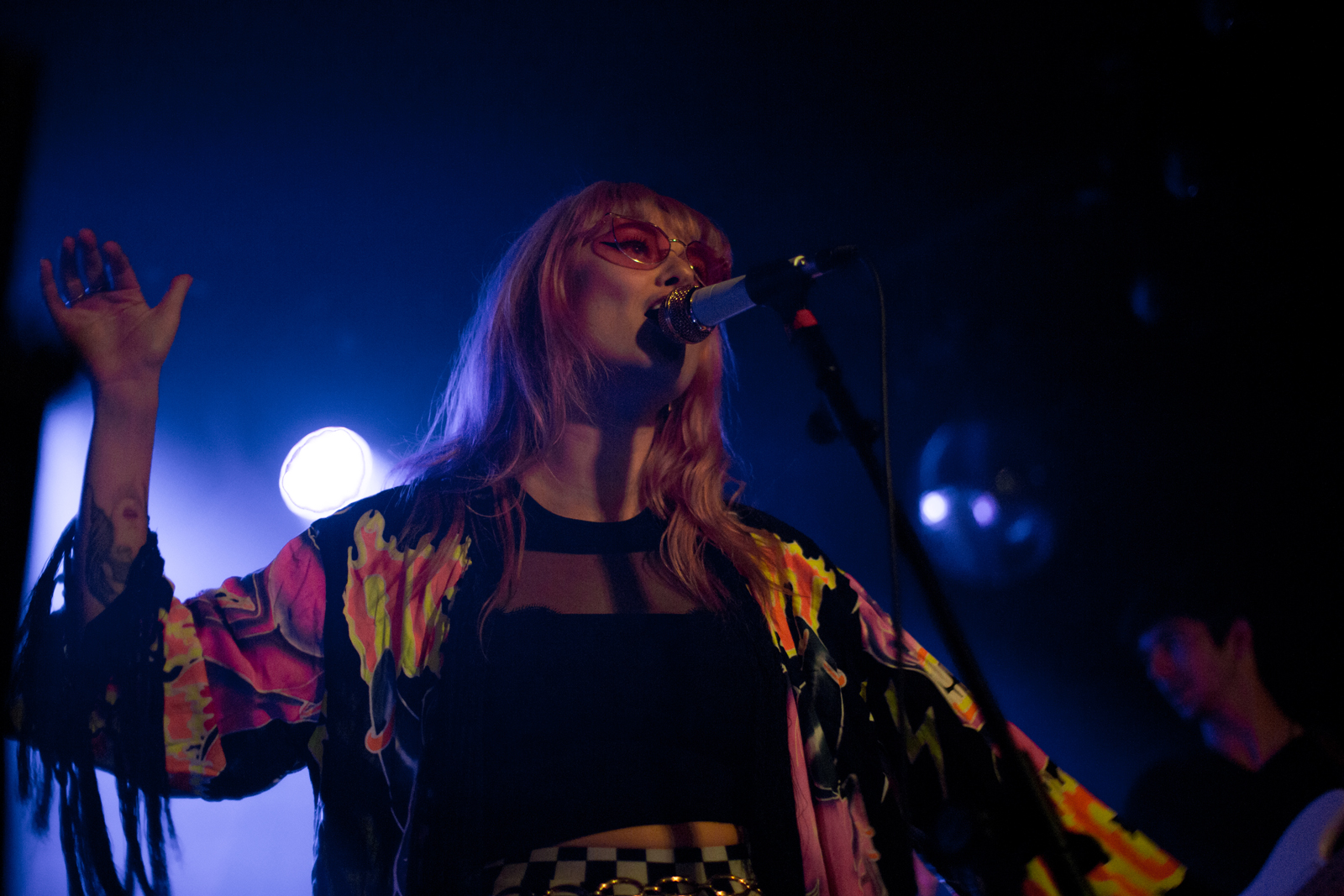 Blonde Diamond performing at The Moroccan Lounge, September 26, 2018 // photo by Linda Wang