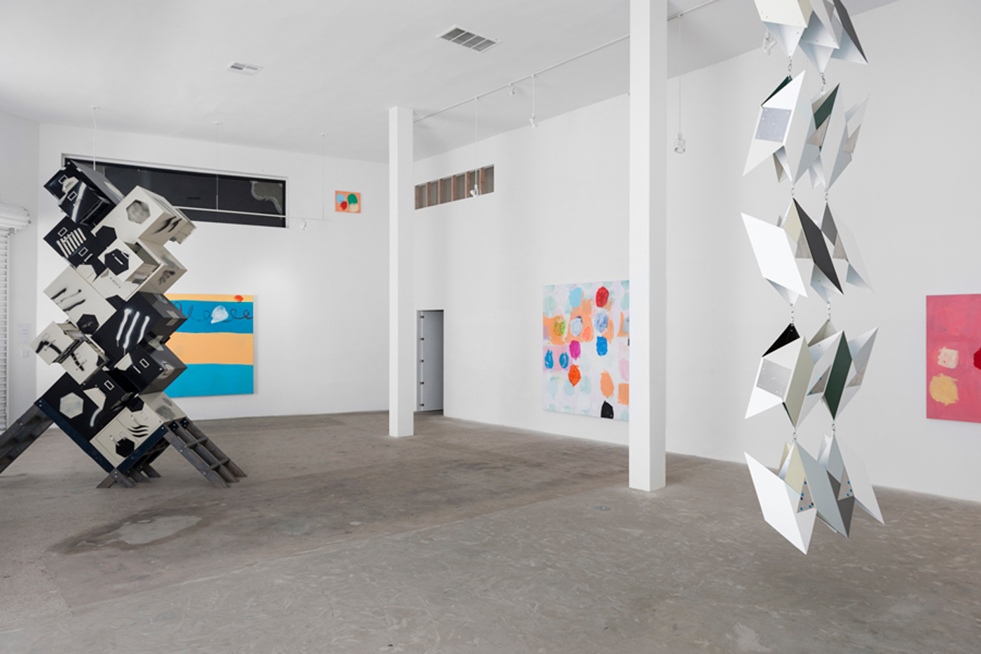 Jason Meadows + Jule Korneffel: Phase Patterns, art exhibit @ LTD Los Angeles // photo source: ltdlosangeles.com