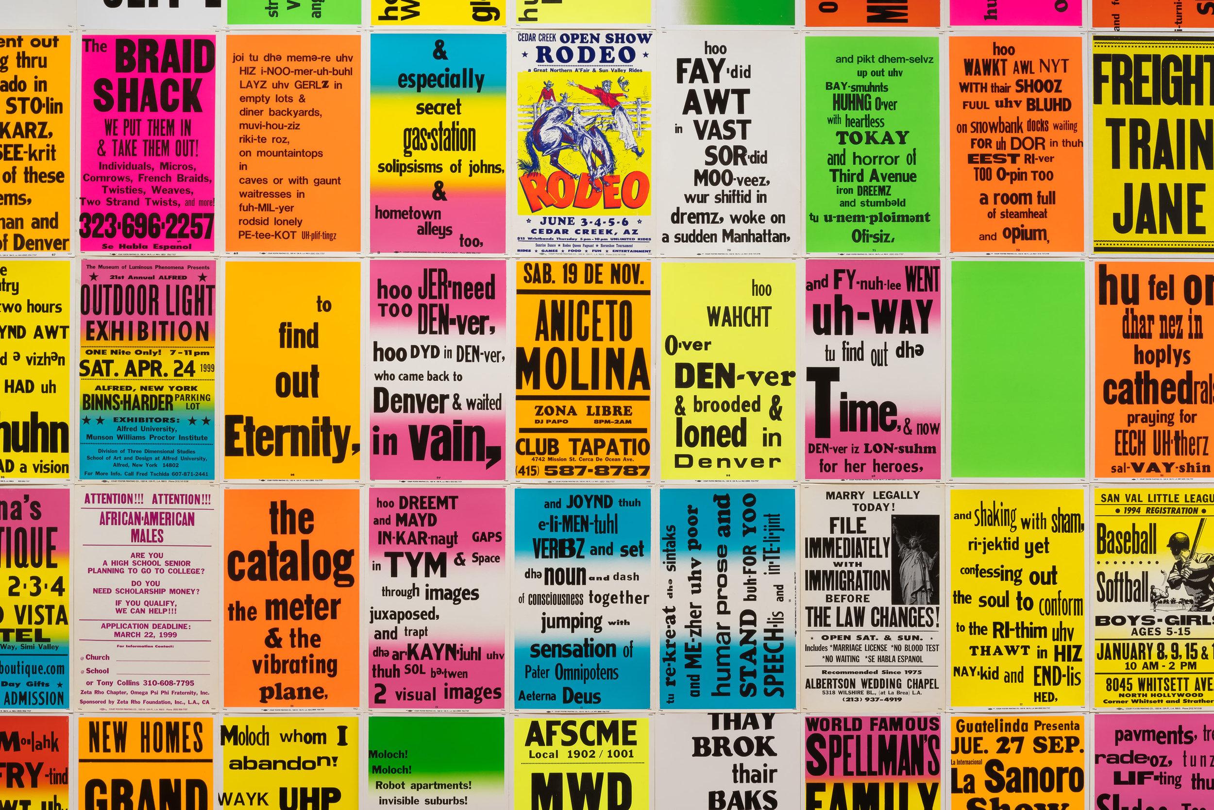 Allen Ruppersberg: Intellectual Property 1968–2018, art exhibit @ Hammer Museum // photo source: hammer.ucla.edu