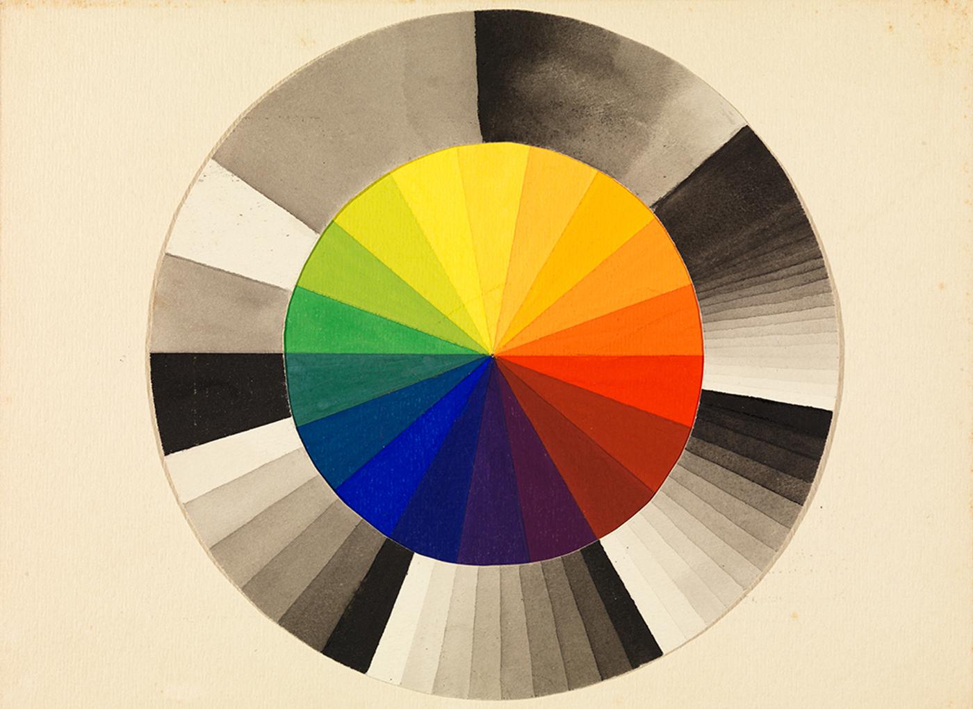 Bauhaus Beginnings, art exhibit @ The Getty Center // photo source: getty.edu
