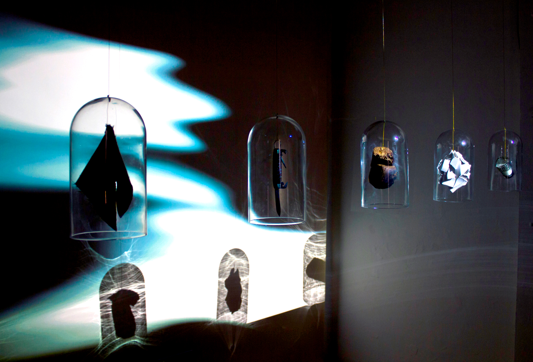 Knock on Wood: Exploring the power of objects and superstitions, art exhibit @ Plummer Park Long Hall // photo source: noyskyprojects.com