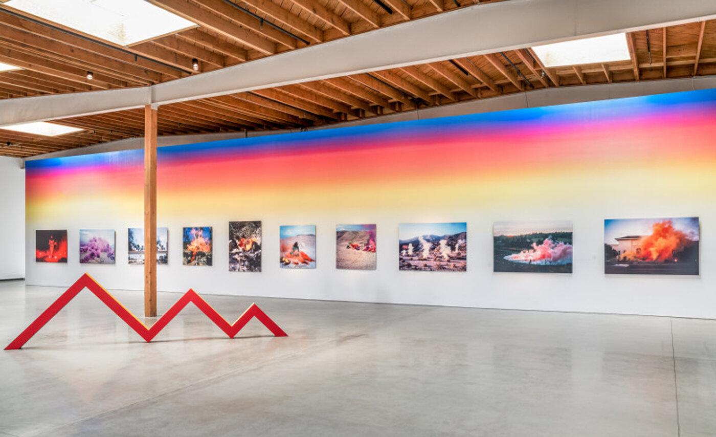 Judy Chicago: Los Angeles, art exhibit @ Deitch Gallery // photo source: deitch.com