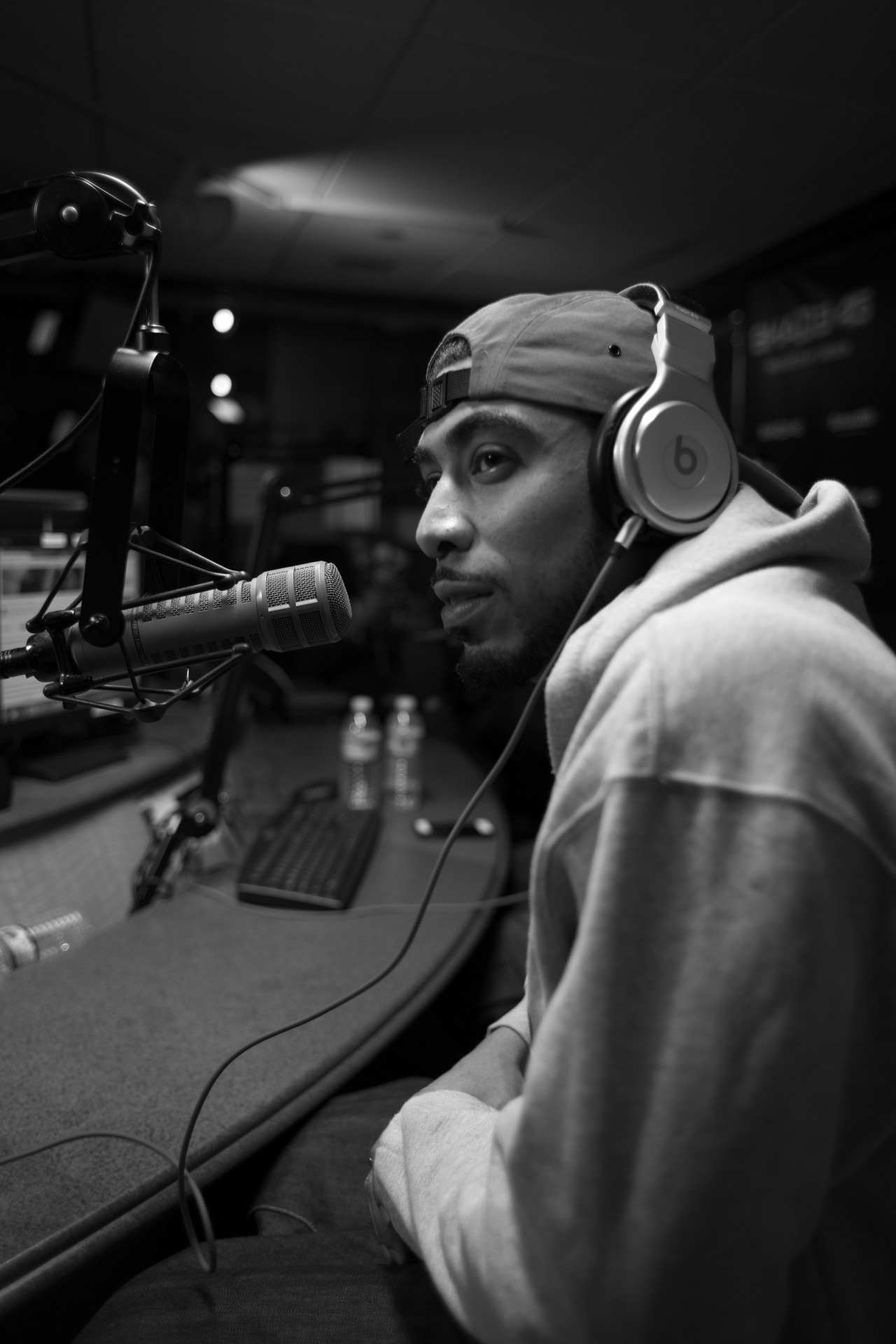 @bklynstickup on @shade45's #showoffradio w/ @StatikSelekt    Shot by @jFlei