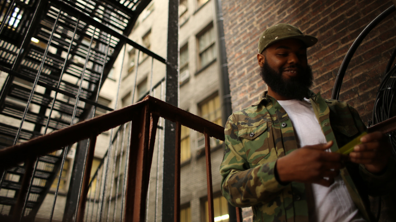 @RomeFortune at the HNHH Office   shot by @jFlei