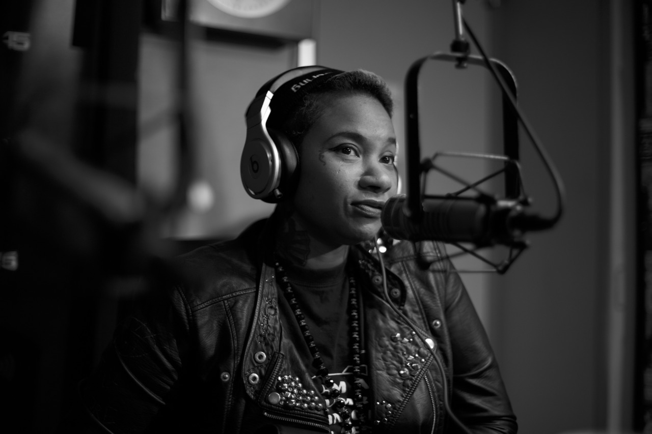 @JeanGreasy on @ shade45  #ShowoffRadio w/ @StatikSelekt     Shot by @jFlei
