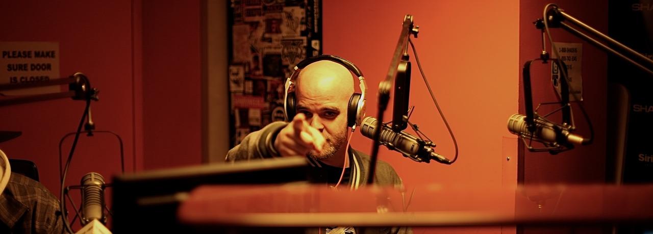 @HouseShoes on @ shade45  #ShowoffRadio w/ @StatikSelekt    Shot by  @jFlei