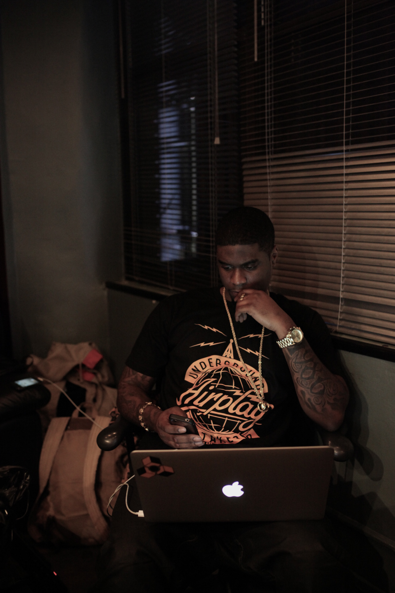 @BigKrit cooking up classics.    Shot by @jFlei